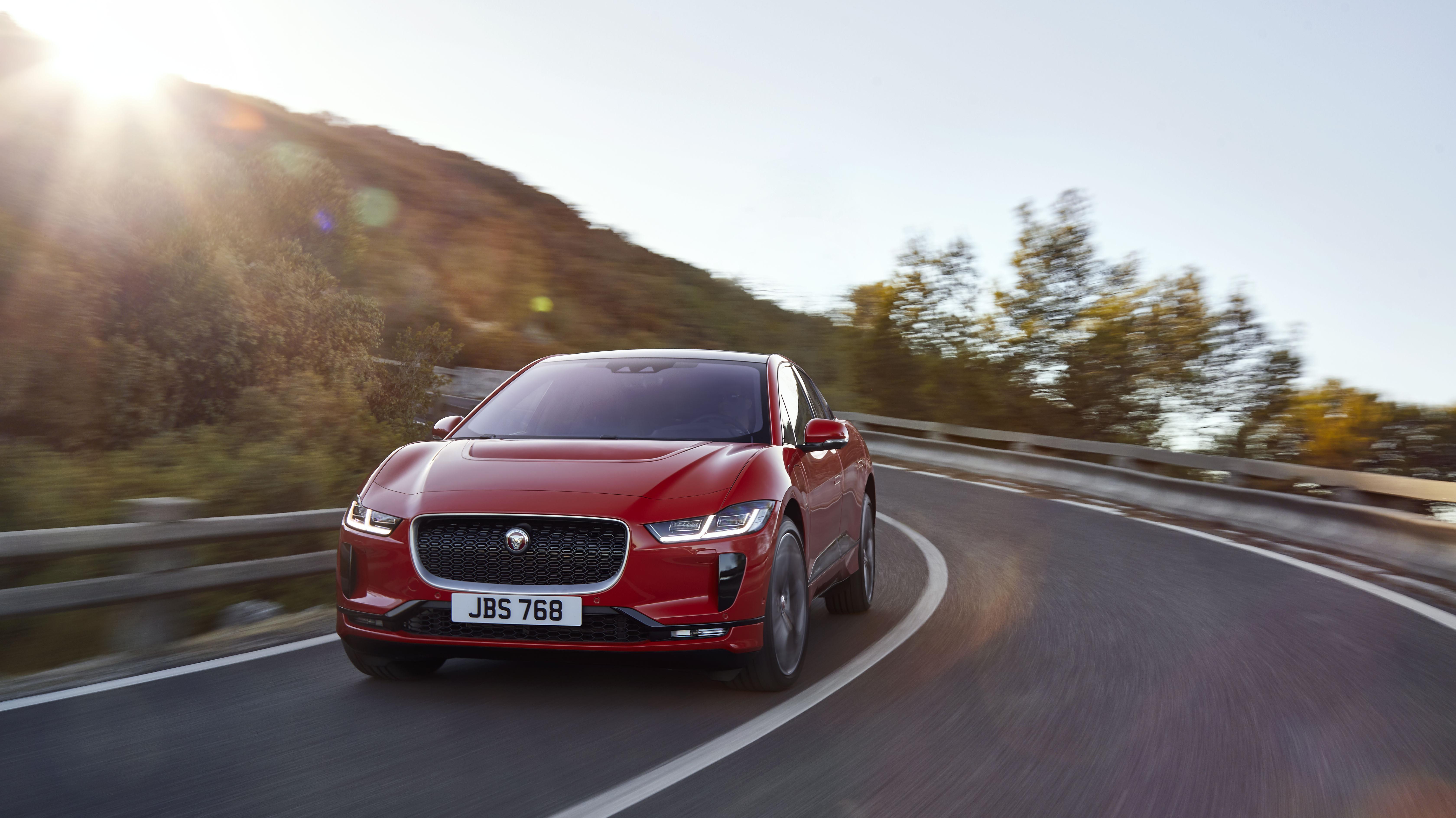 2018 Jaguar I-Pace electric SUV.
