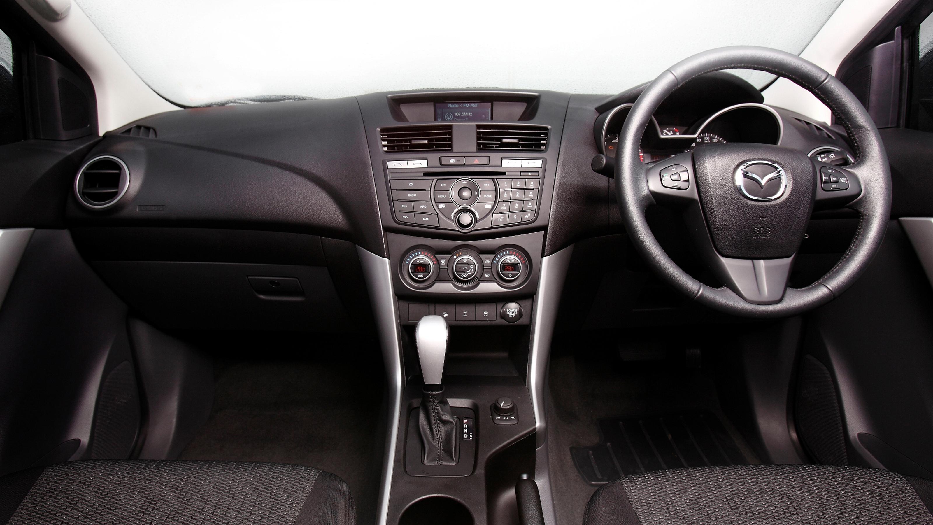 2011 Mazda BT-50.