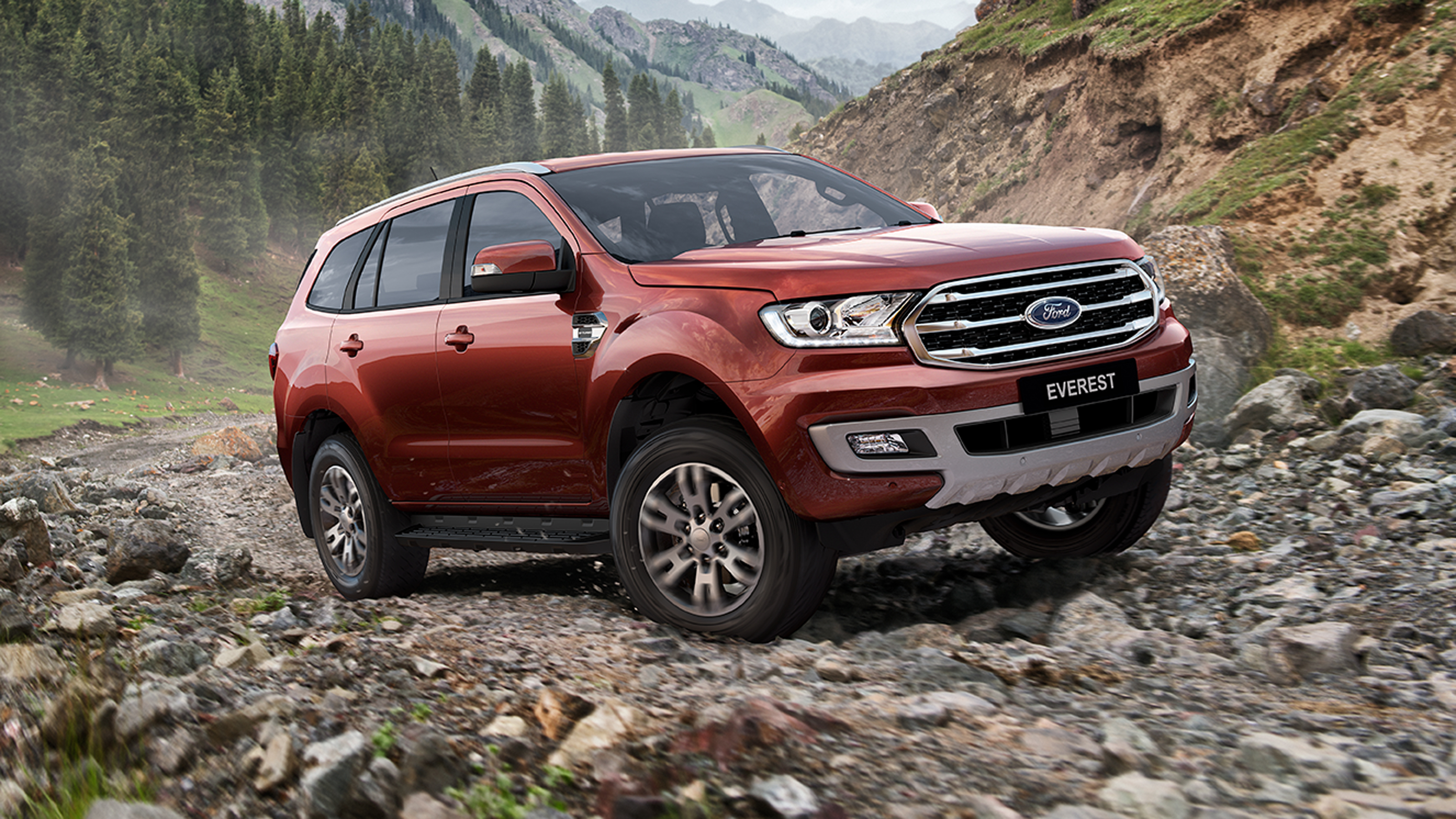 2019 Ford Everest.