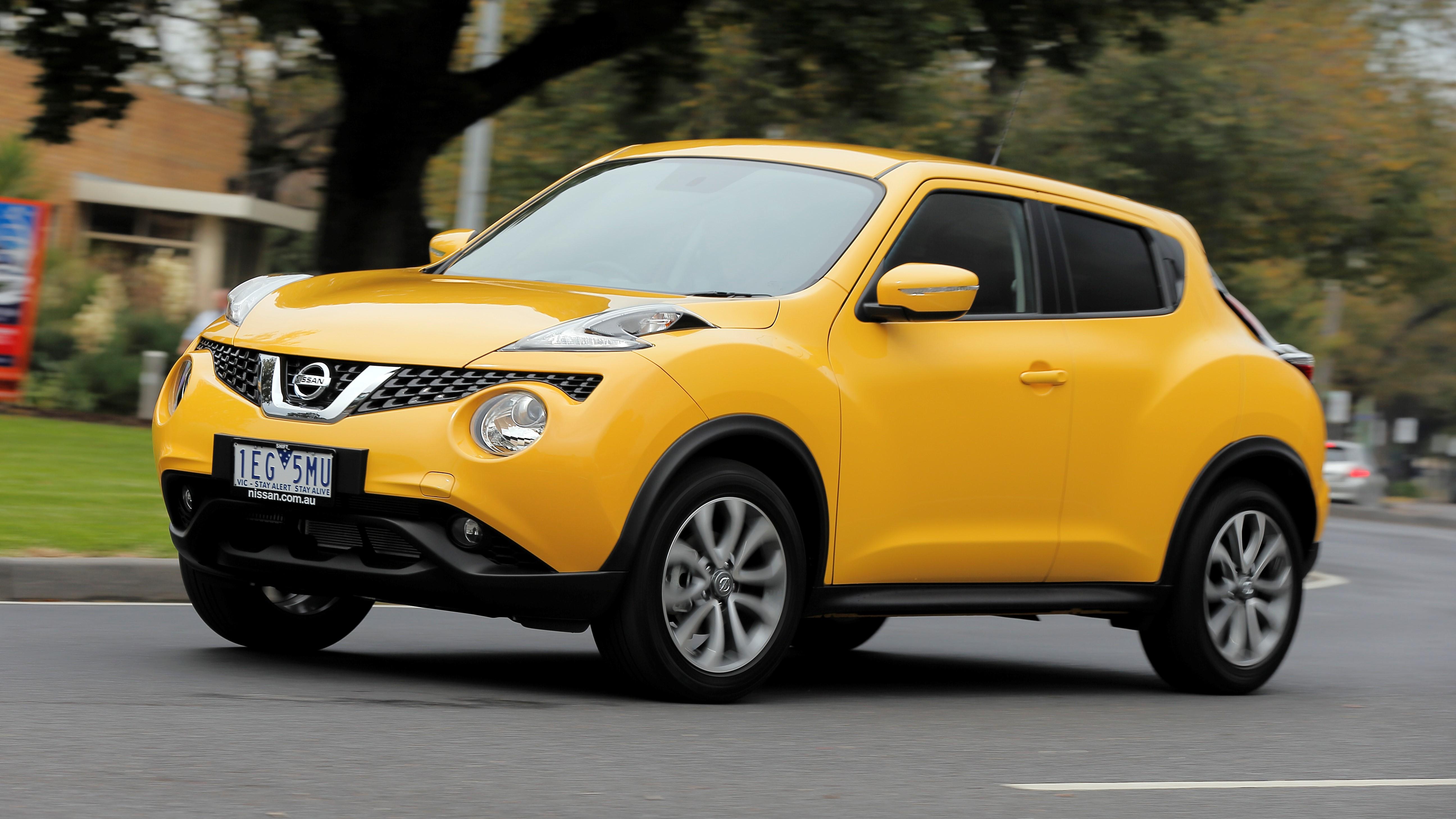 Nissan Juke ST.