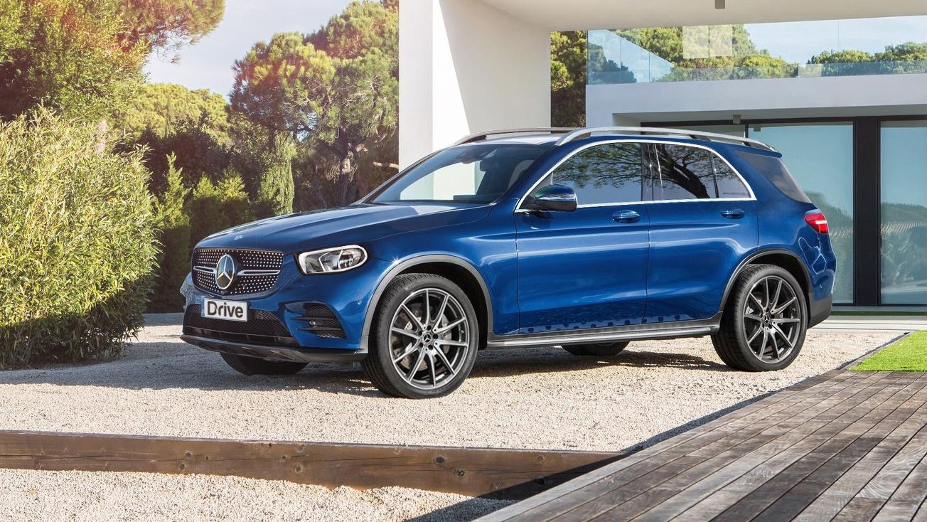 2019 Mercedes-Benz GLE rendering