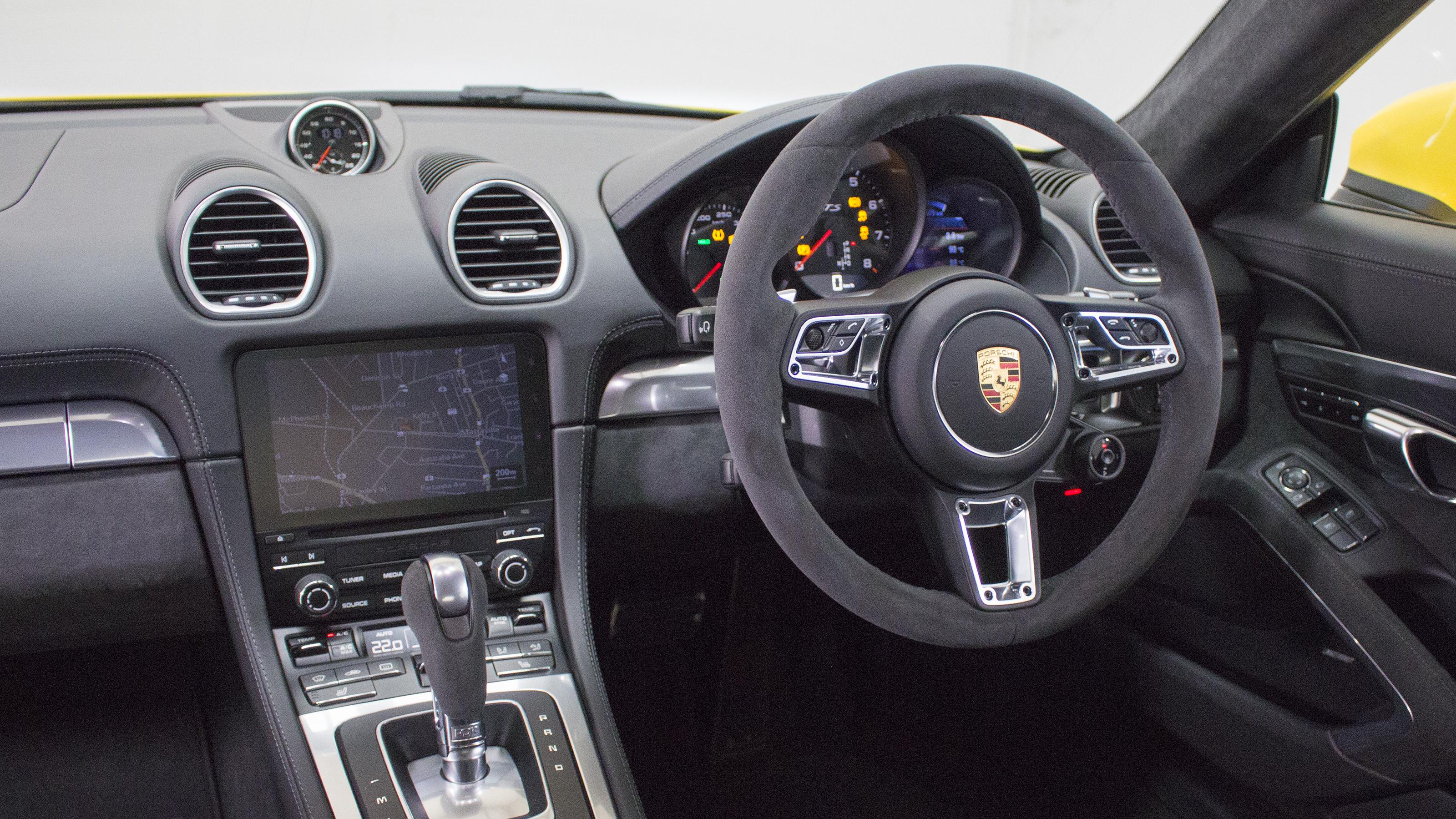 2018 Porsche Cayman GTS.