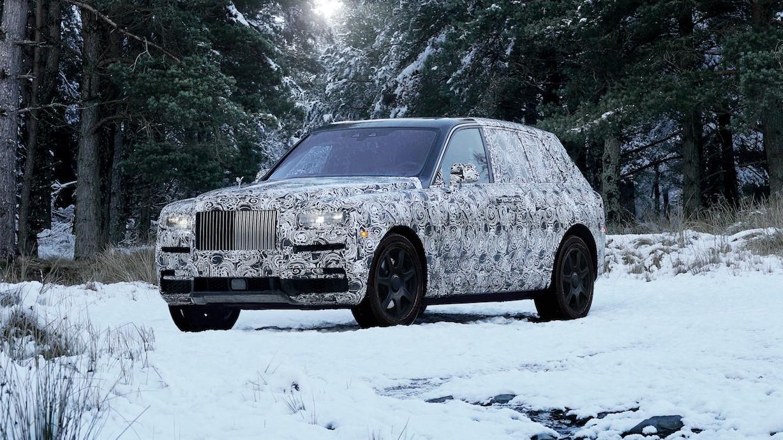 Rolls-Royce Cullinan prototype.