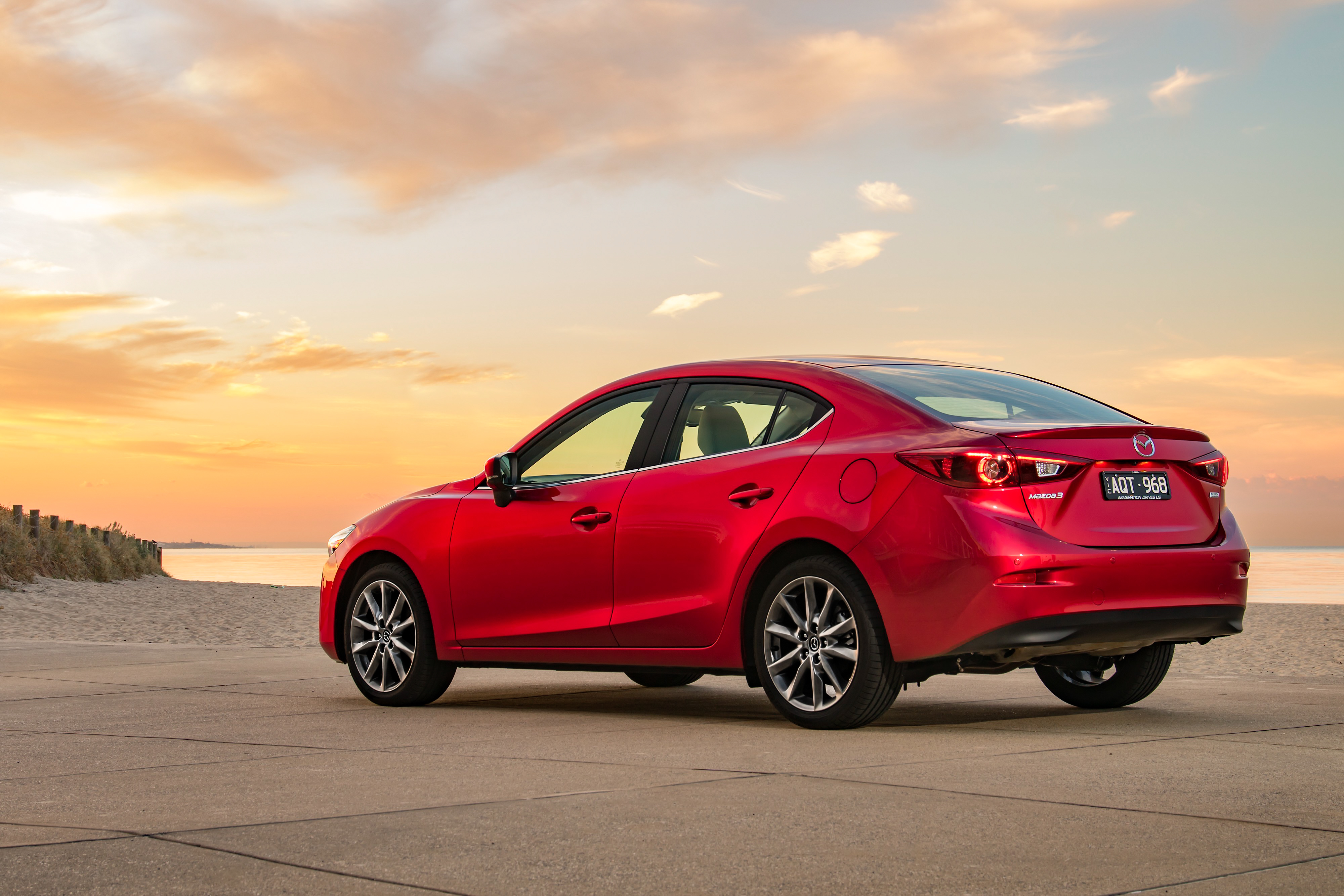 The current Mazda3 will be replaced soon.