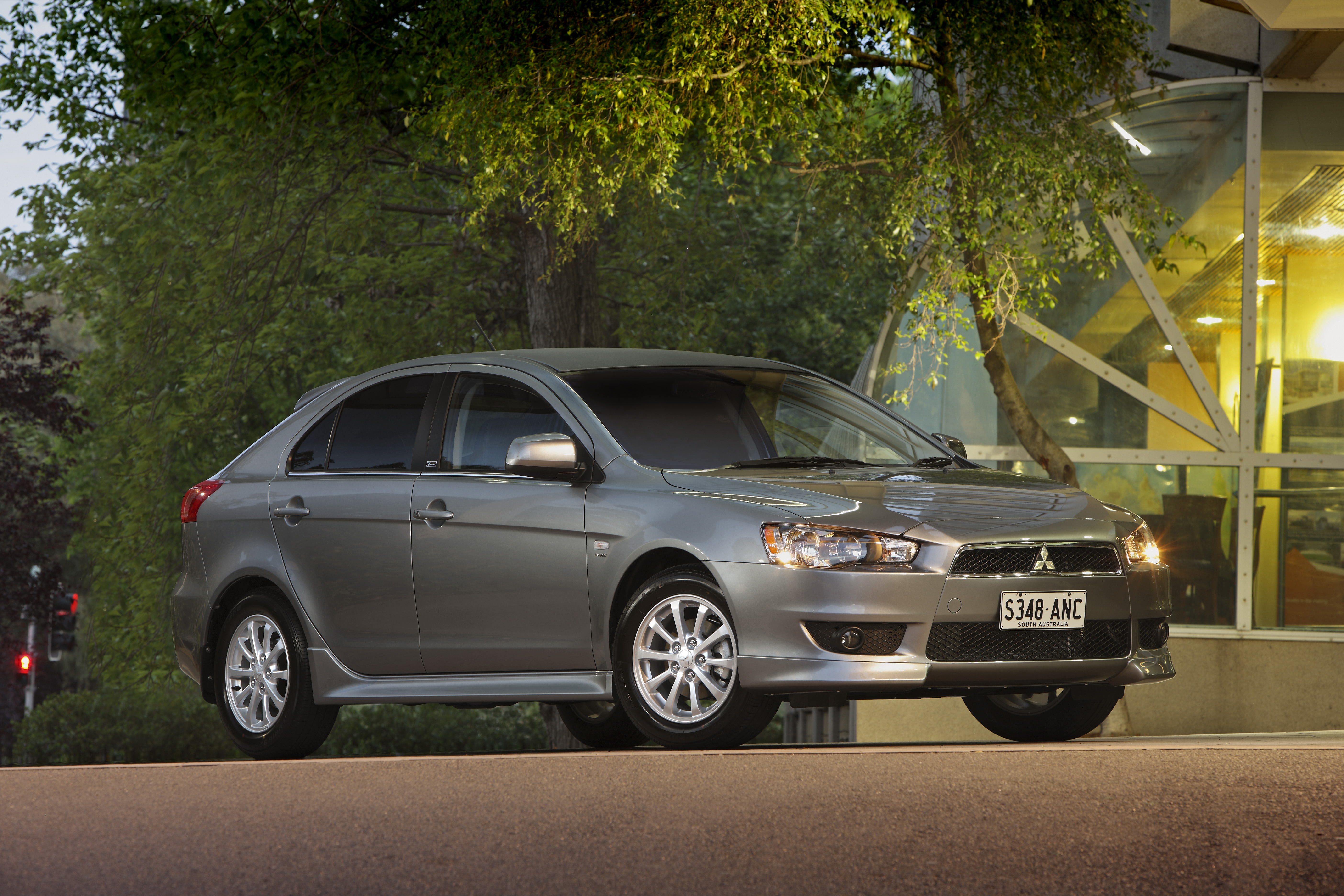 2011 Mitsubishi Lancer.