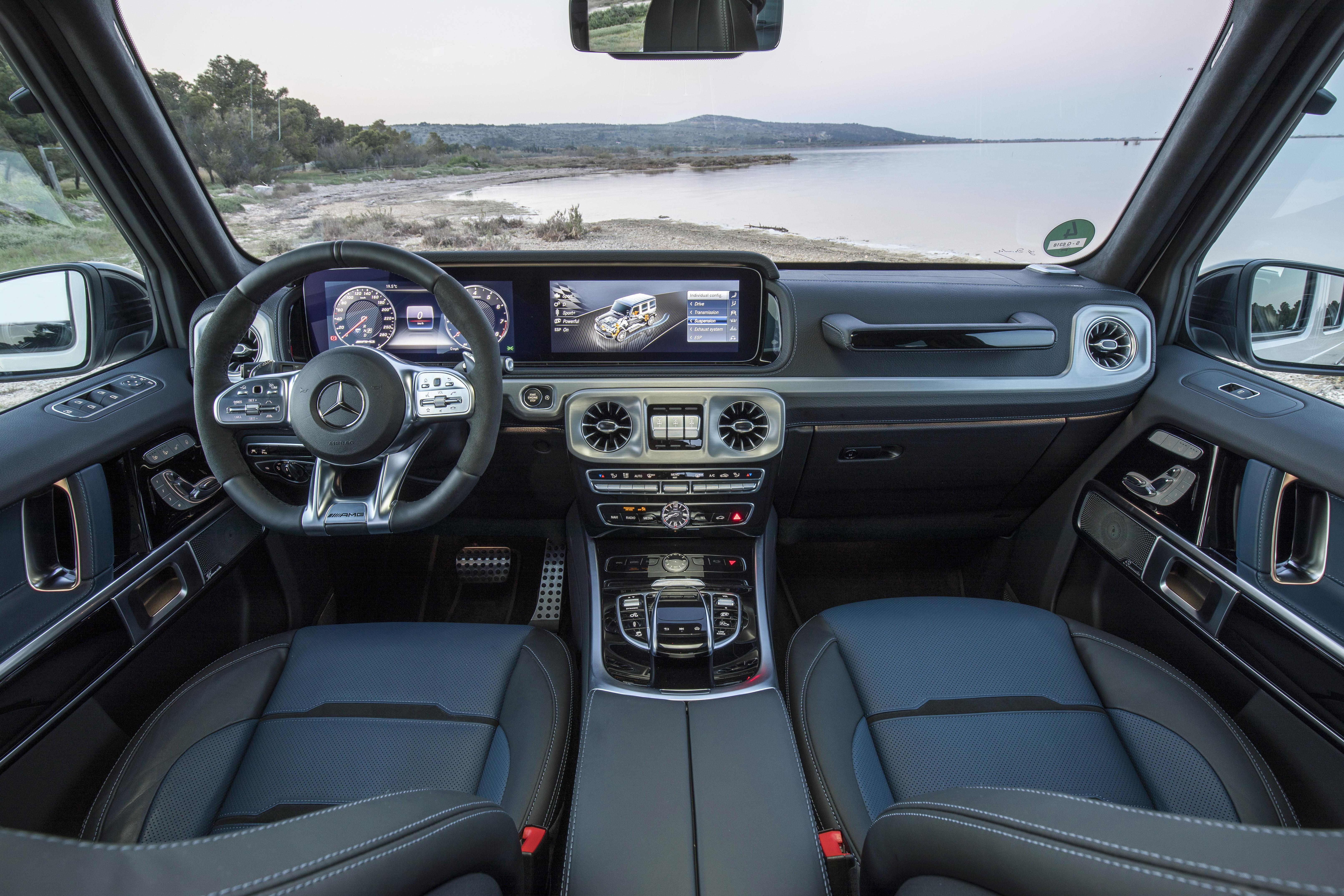 2018 Mercedes-AMG G63.