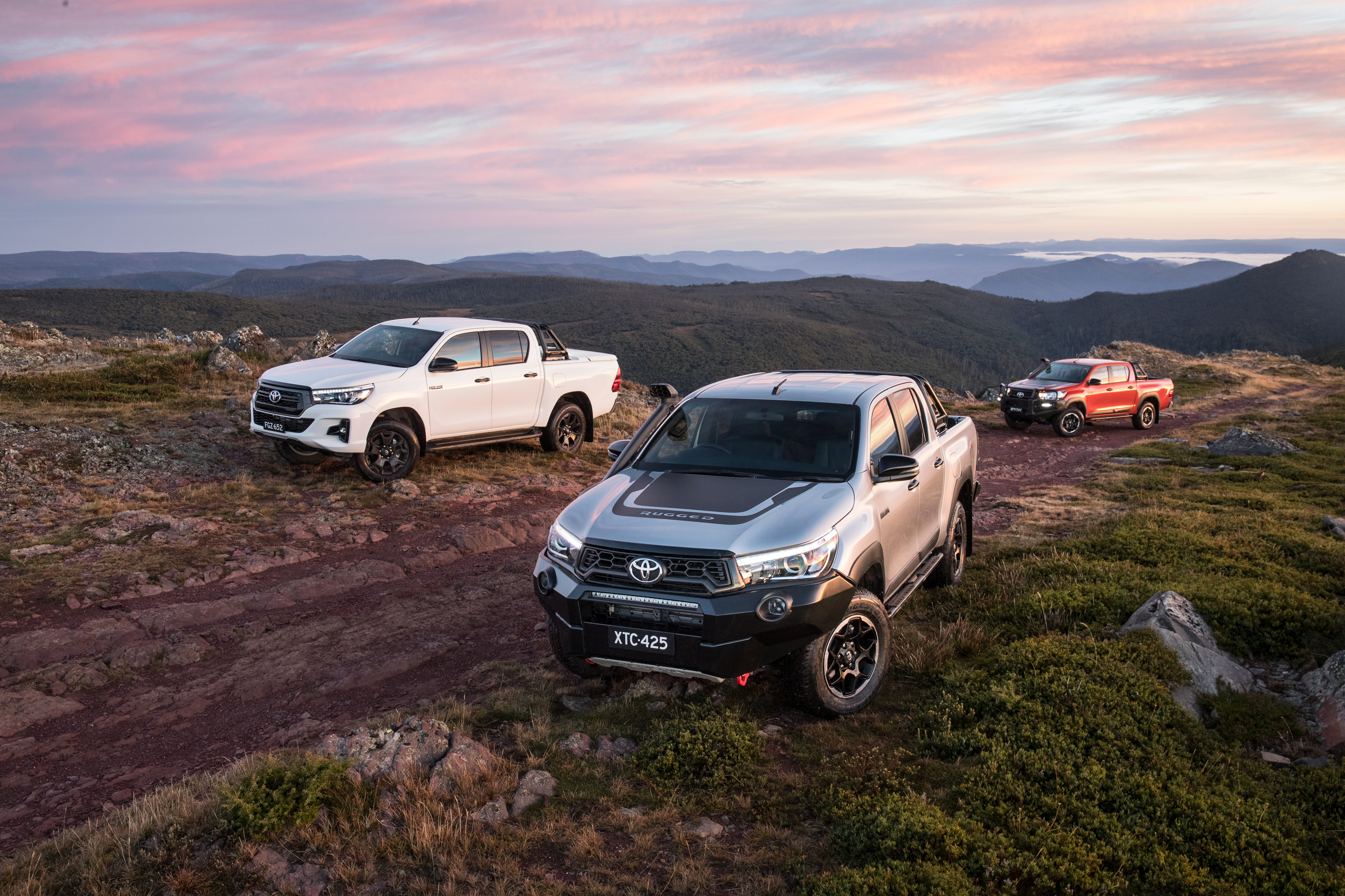 Toyota's new HiLux Rugged X is based on the HiLux SR5.