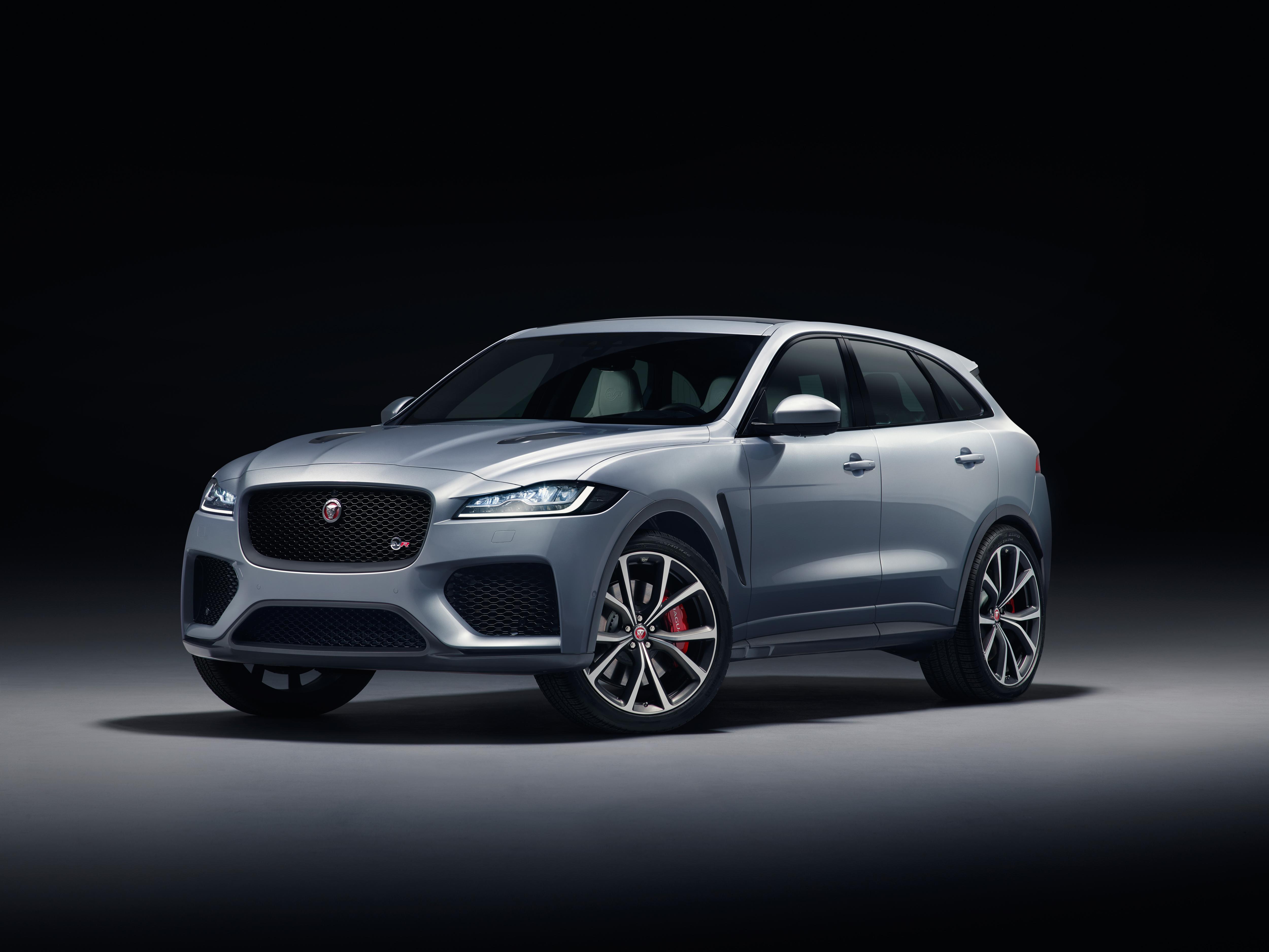 2018 Jaguar F-Pace SVR.