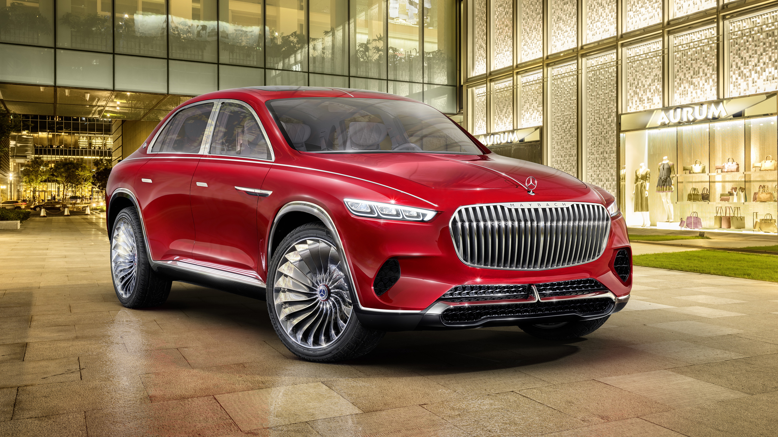 2018 Mercedes-Maybach Vision Ultimate Luxury