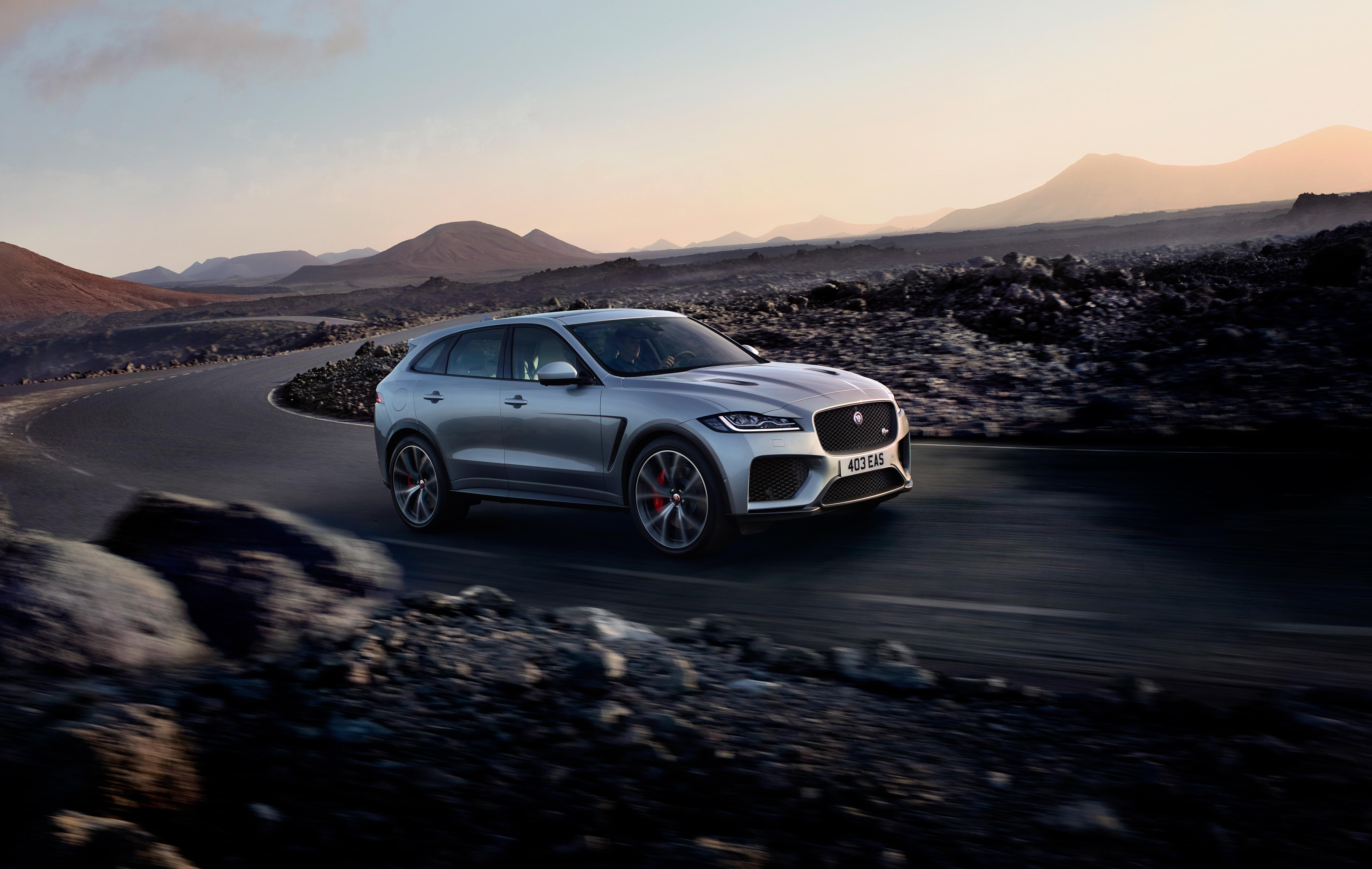 Jaguar F-Pace SVR revealed