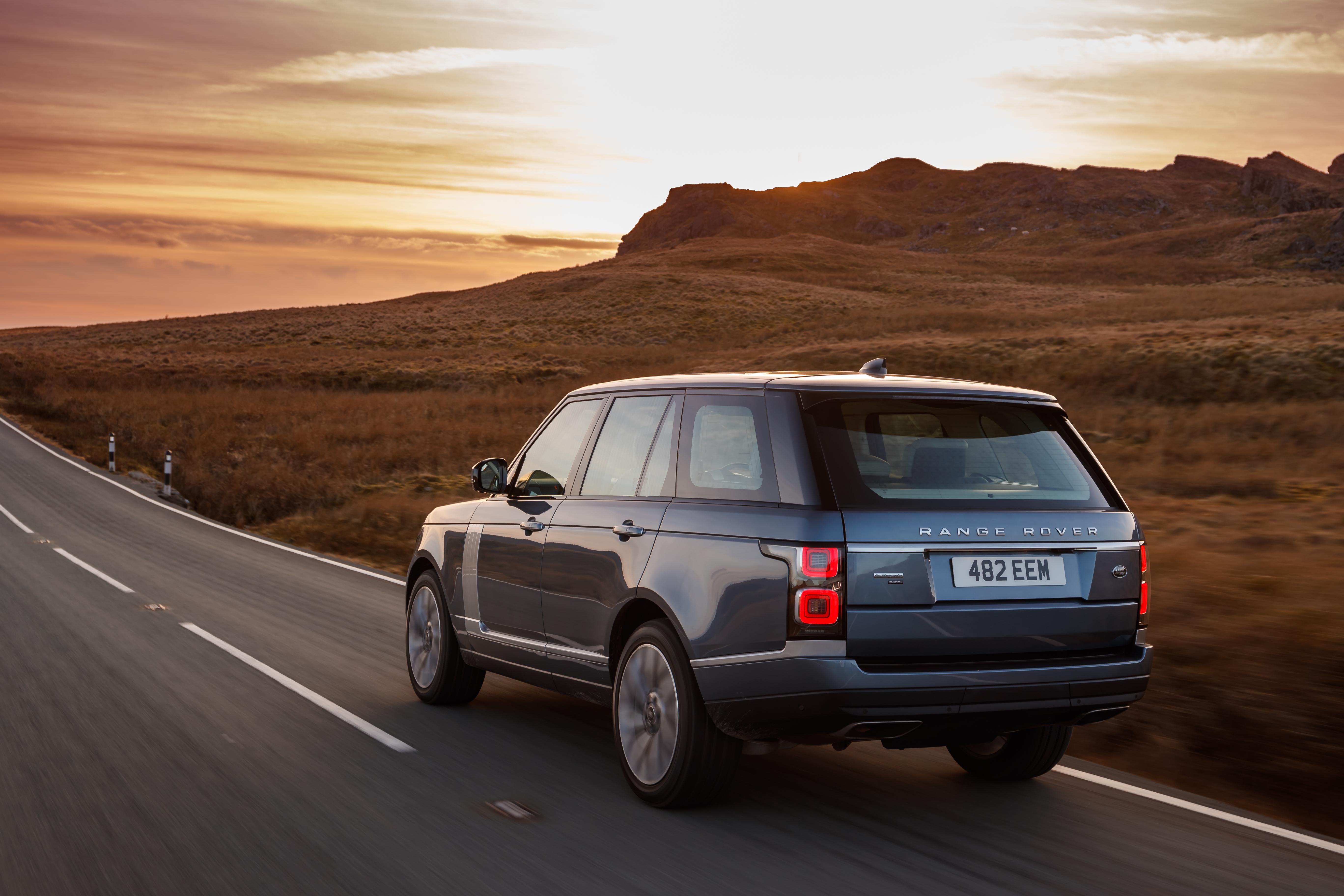 2018 Range Rover PHEV.