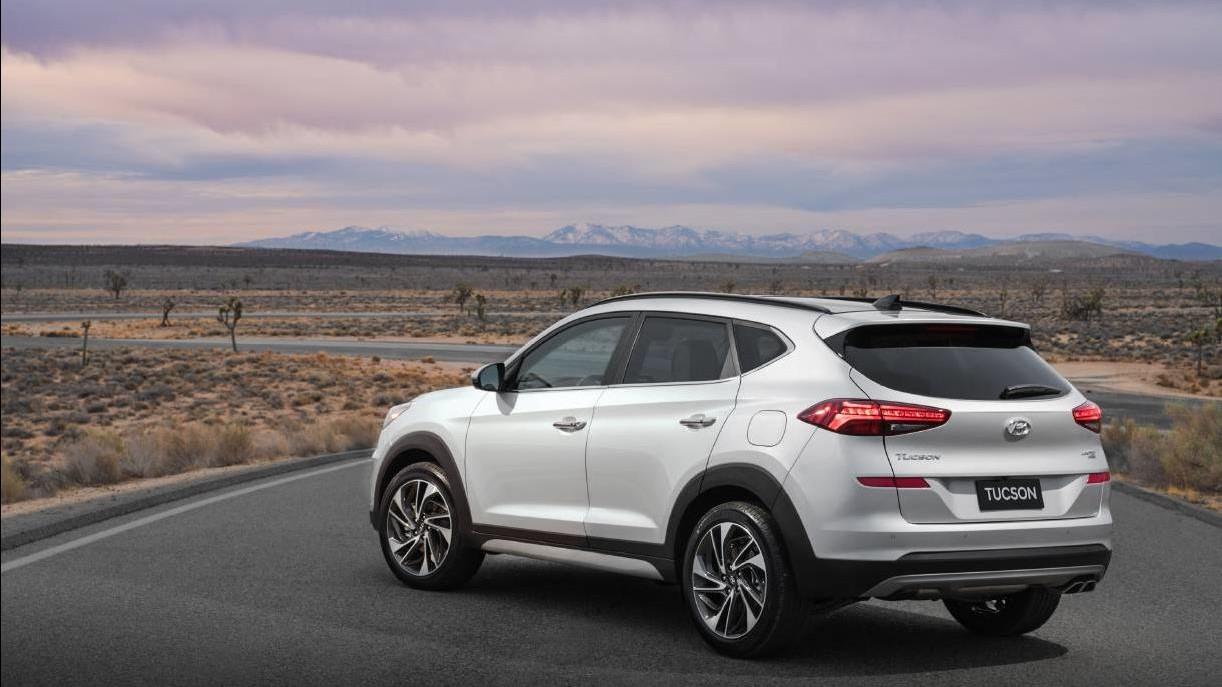 2018 Hyundai Tucson.
