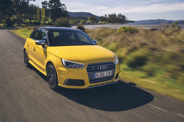 Audi's S1 combines a turbocharged engine with all-wheel-drive and a manual transmission.