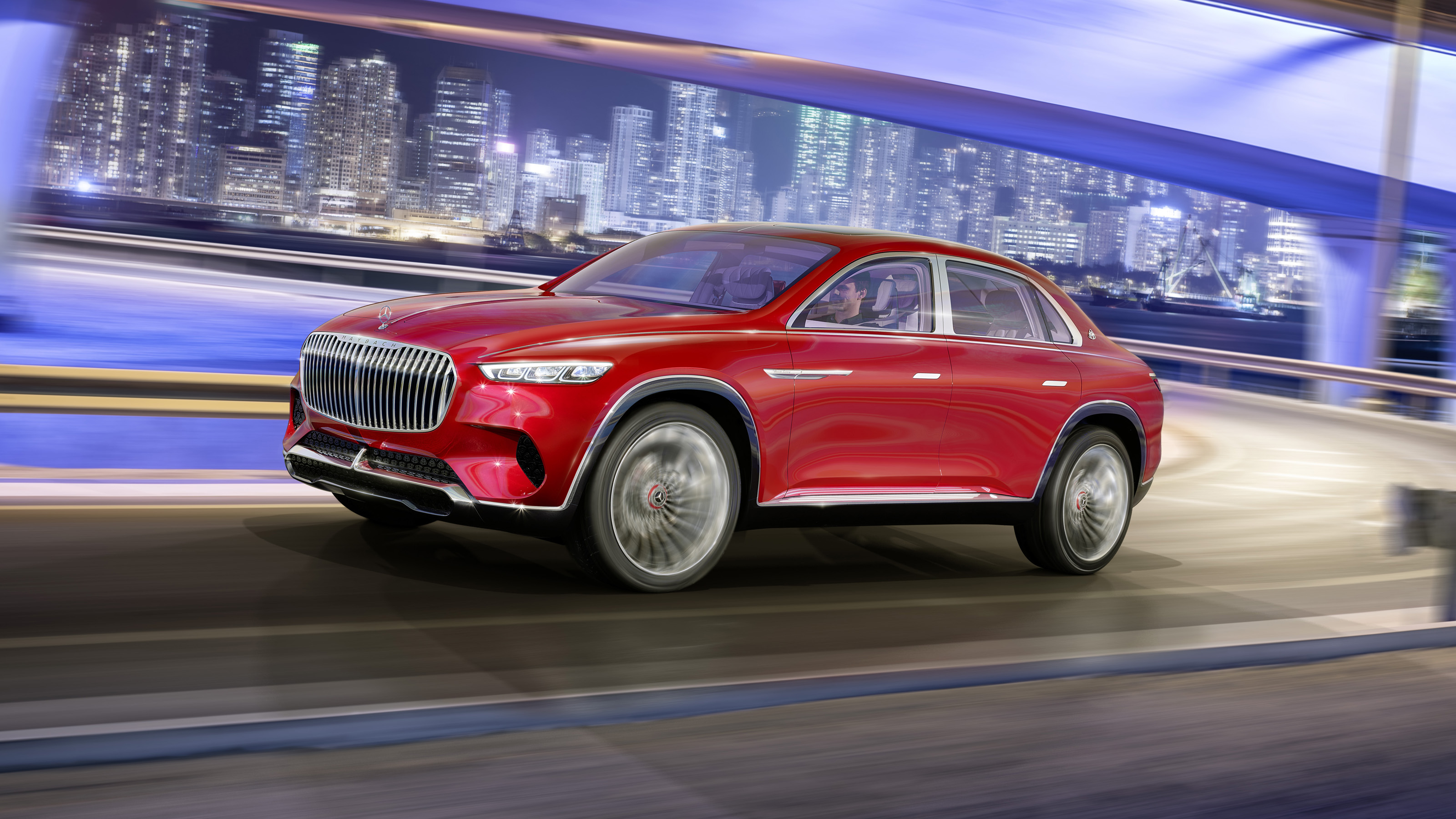 Mercedes-Maybach Vision Ultimate Luxury concept