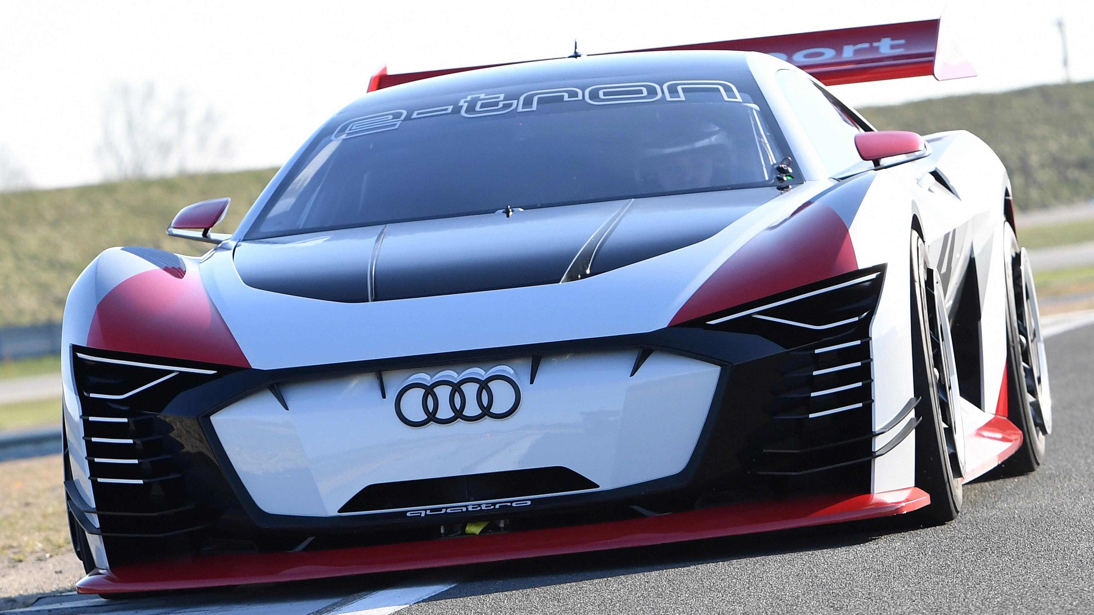 Audi e-tron Vision Gran Turismo first drive review