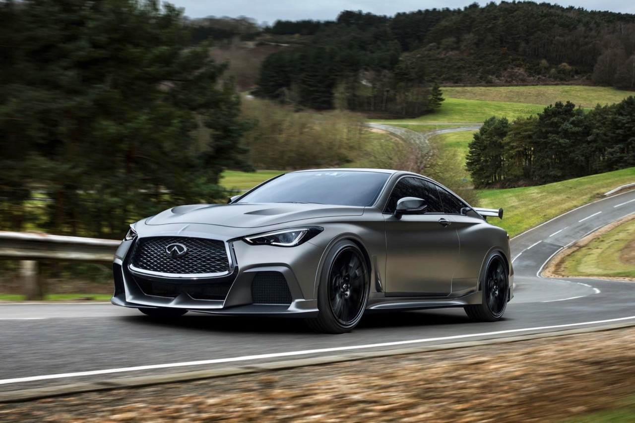 Infiniti's upcoming Black S coupe will use F1-derived hybrid systems.
