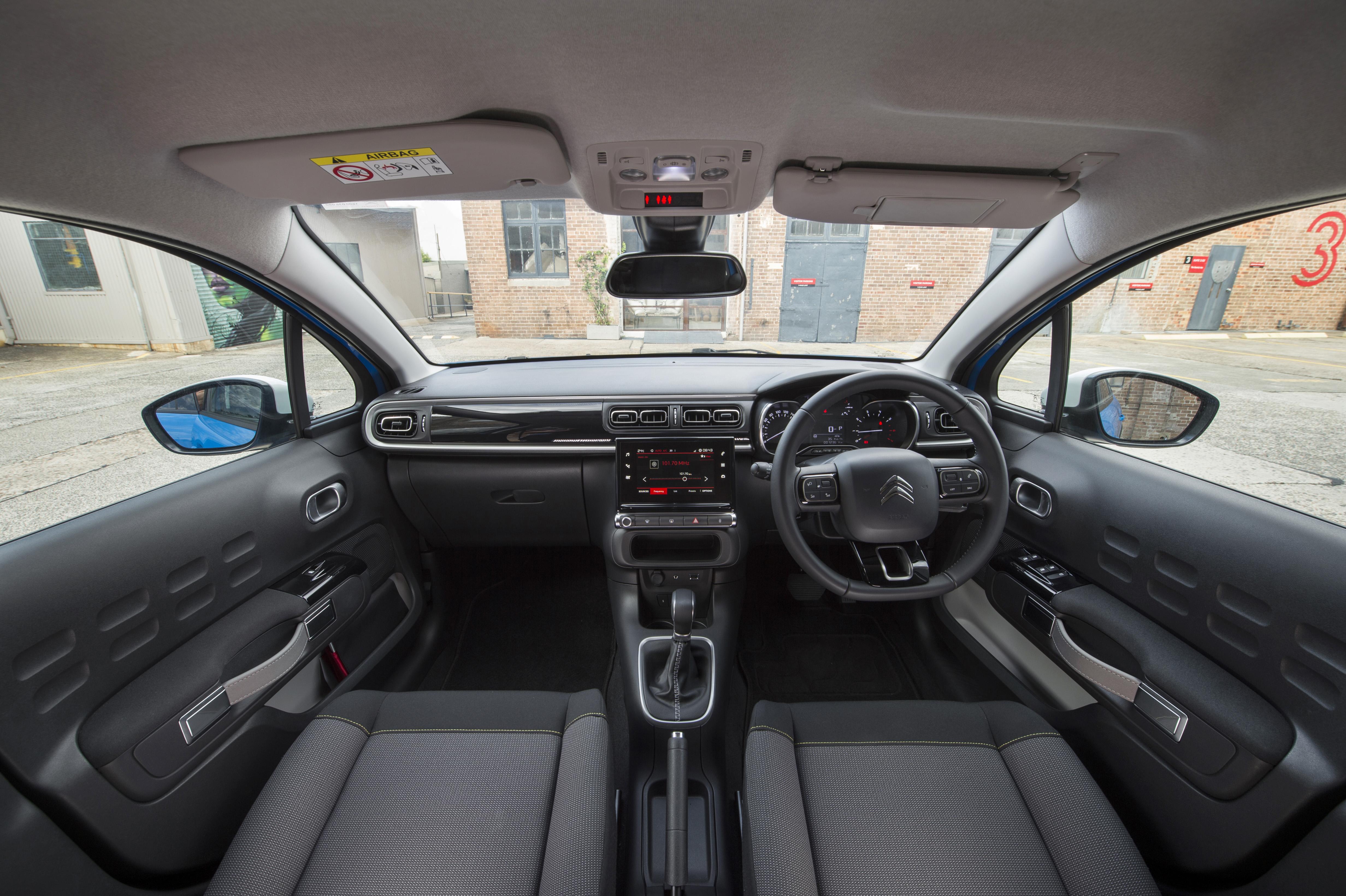2018 Citroen C3.