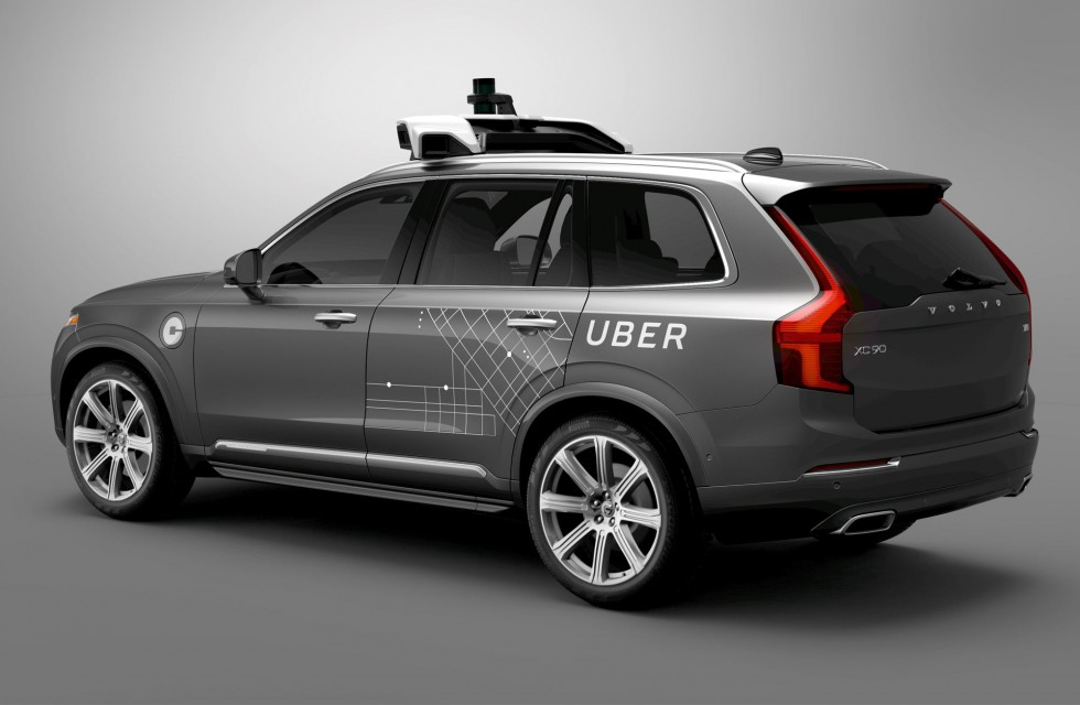 Uber autonomous test vehicle
