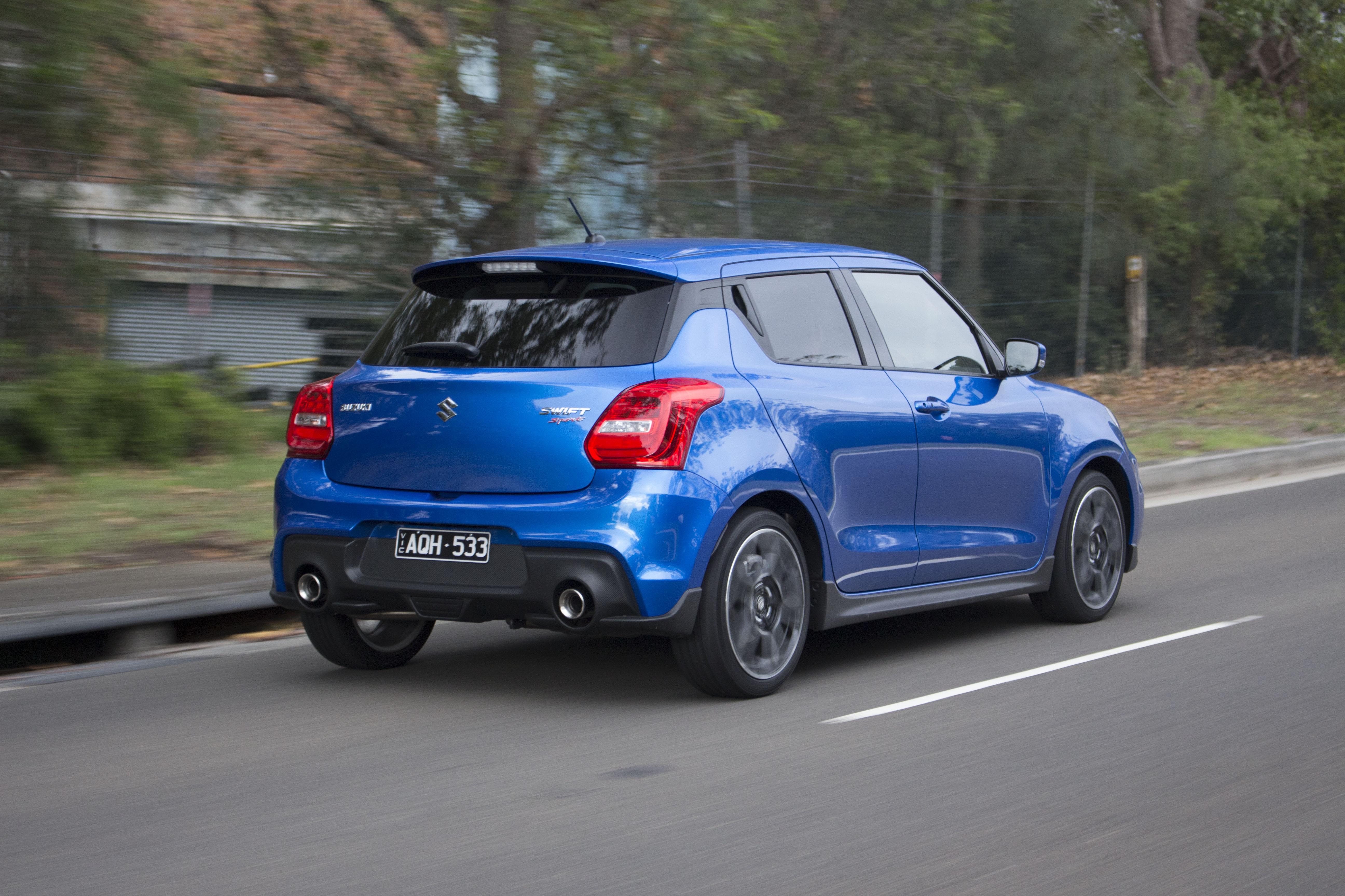 2018 Suzuki Swift Sport.