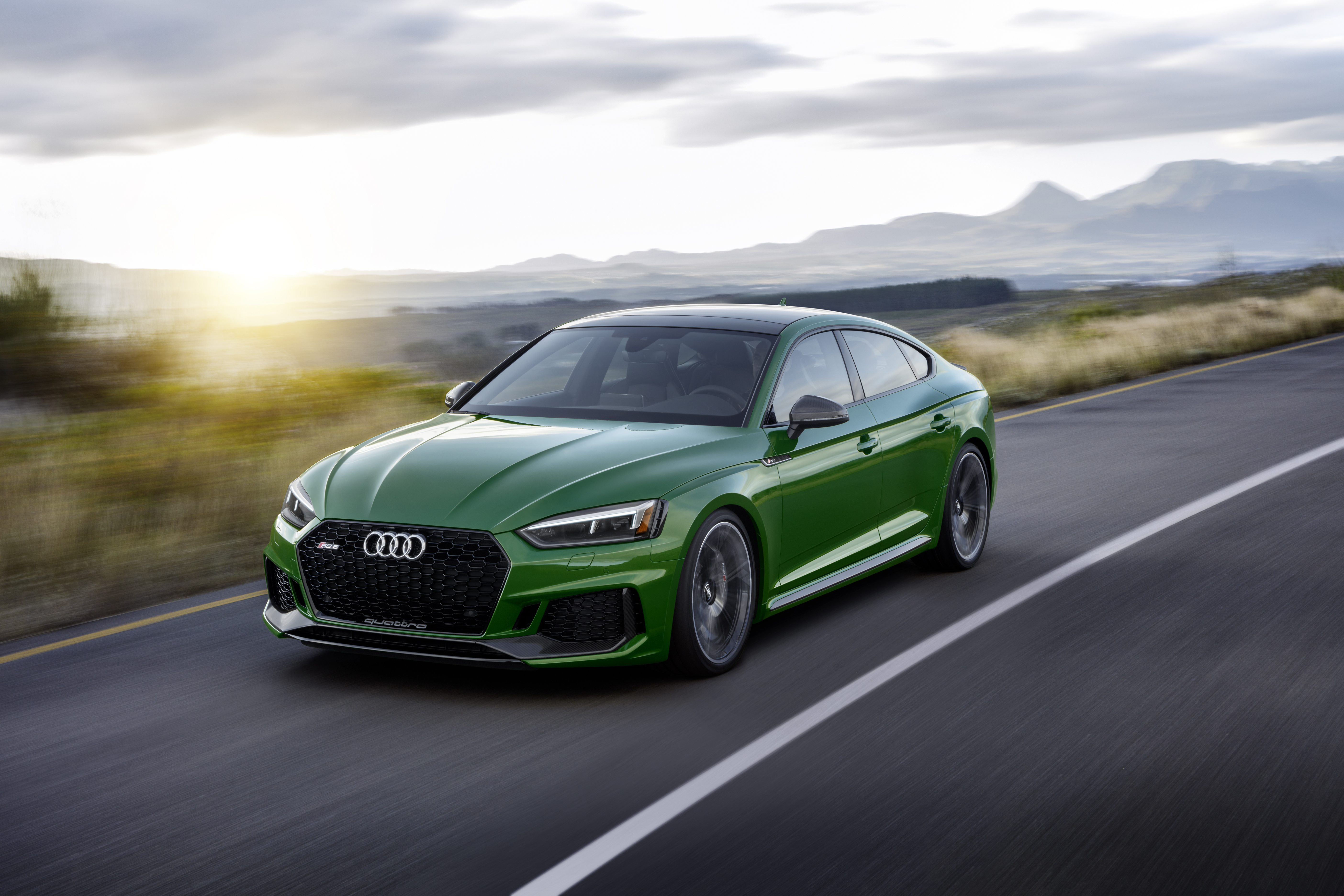 Updated Audi RS5 Sportback breaks cover