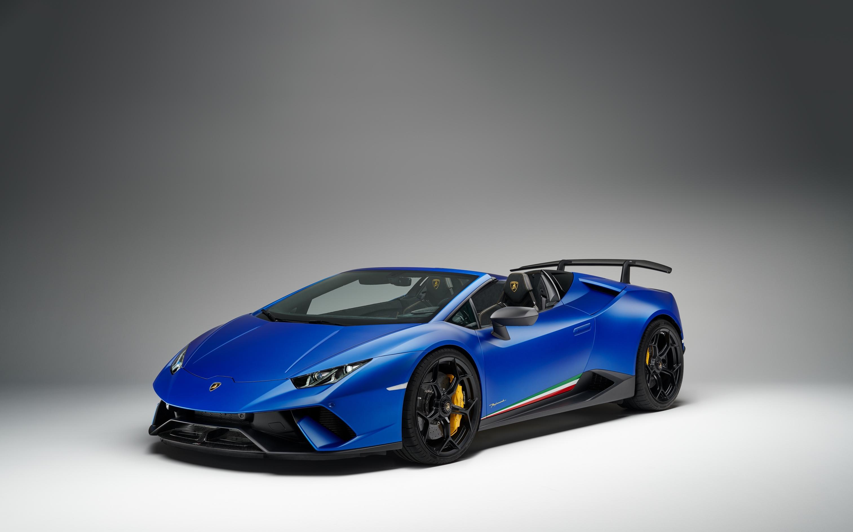 Lamborghini Huracan Performante Spyder.