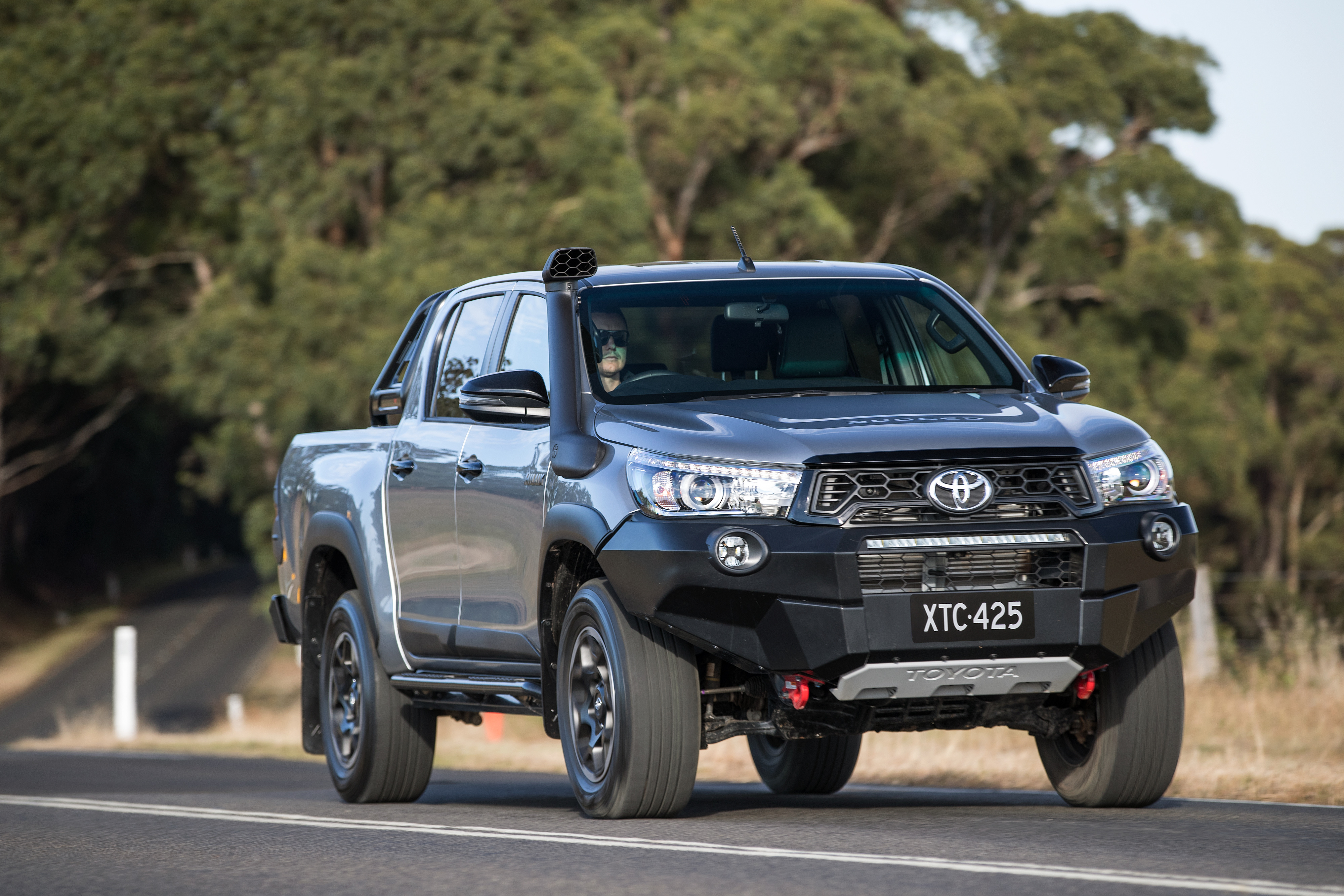 2018 Toyota HiLux Rugged X.