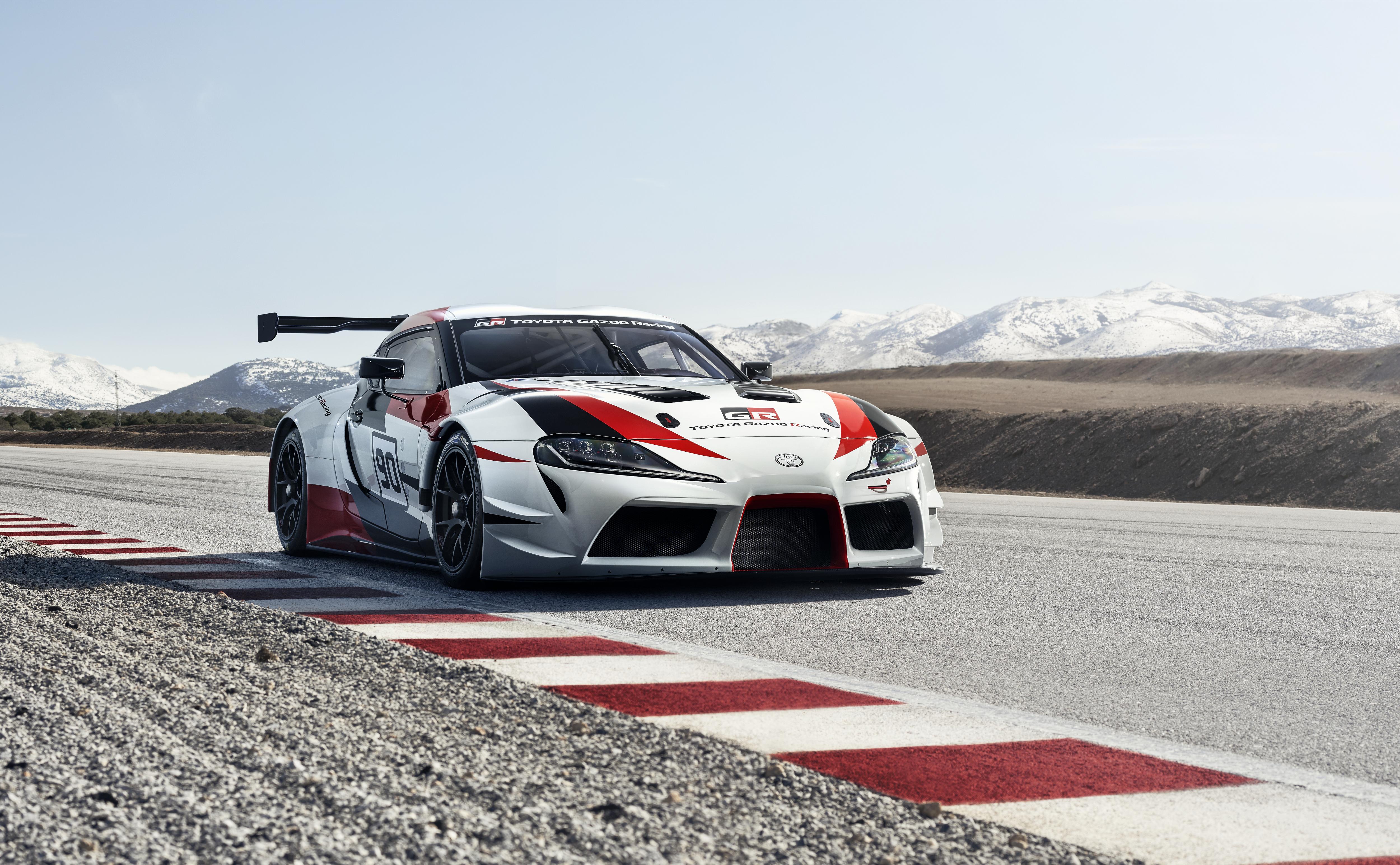 2018 Toyota Supra racing concept.