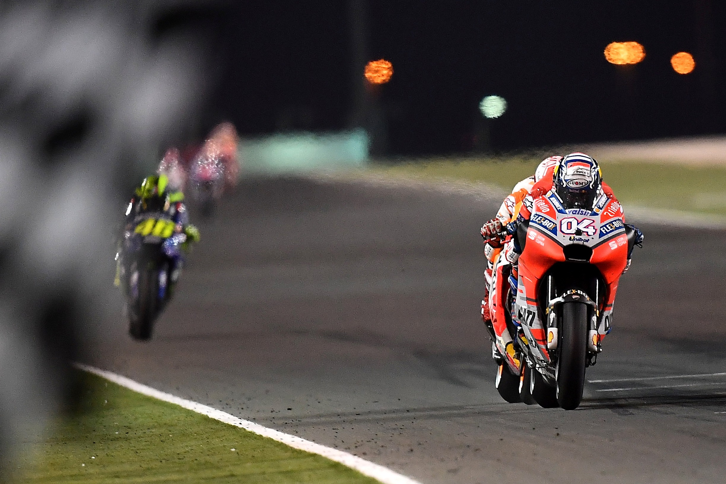 Motorsport: Ducati wins Qatar thriller