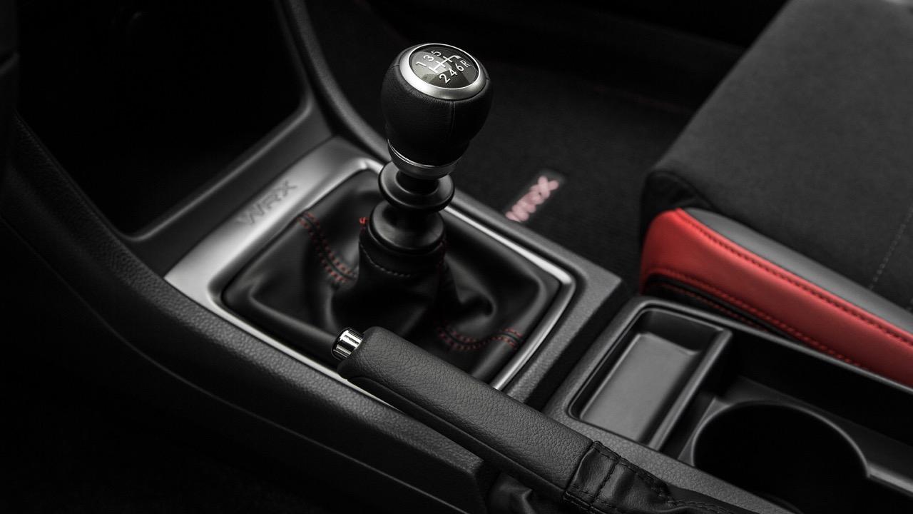 2018 Subaru WRX manual transmission