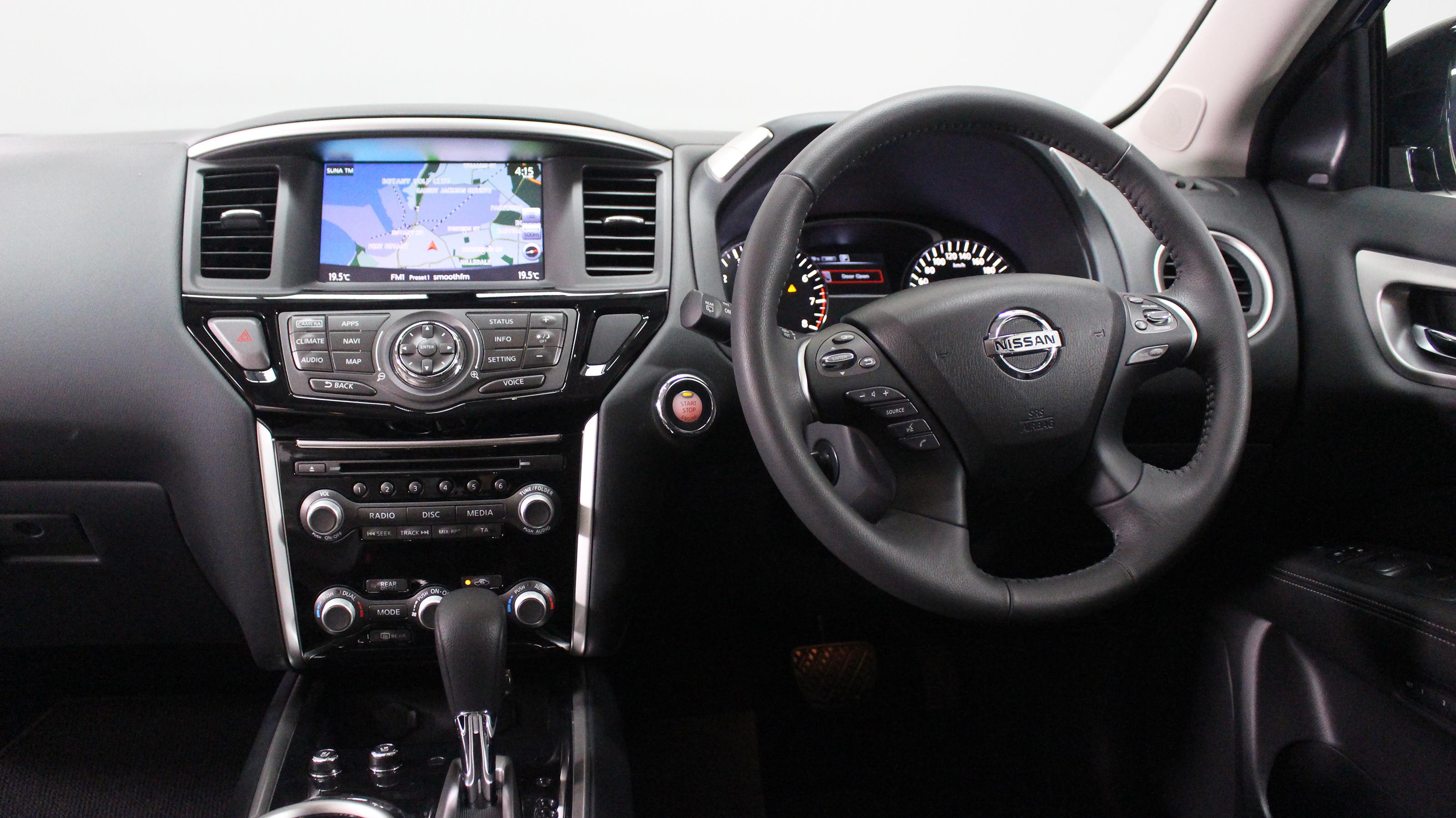2018 Nissan Pathfinder Ti.