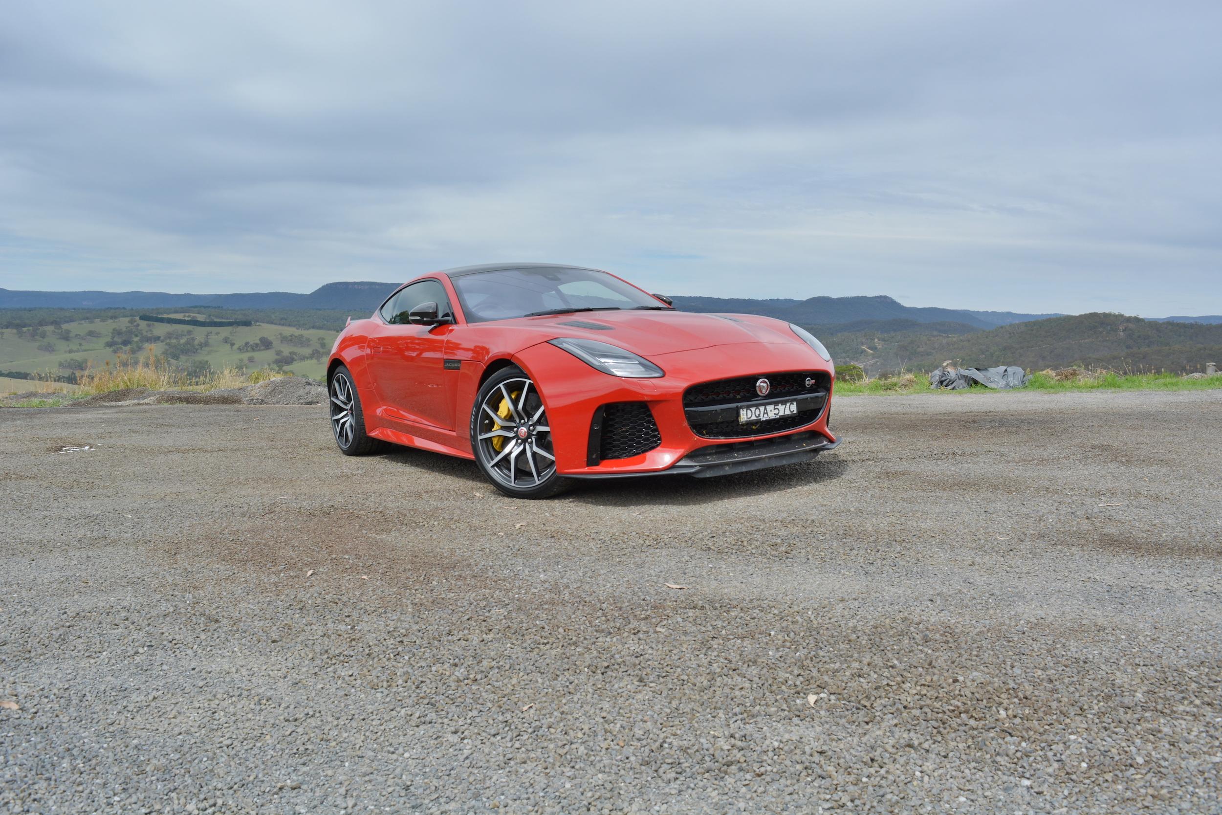 2018 Jaguar F-Type SVR new car review