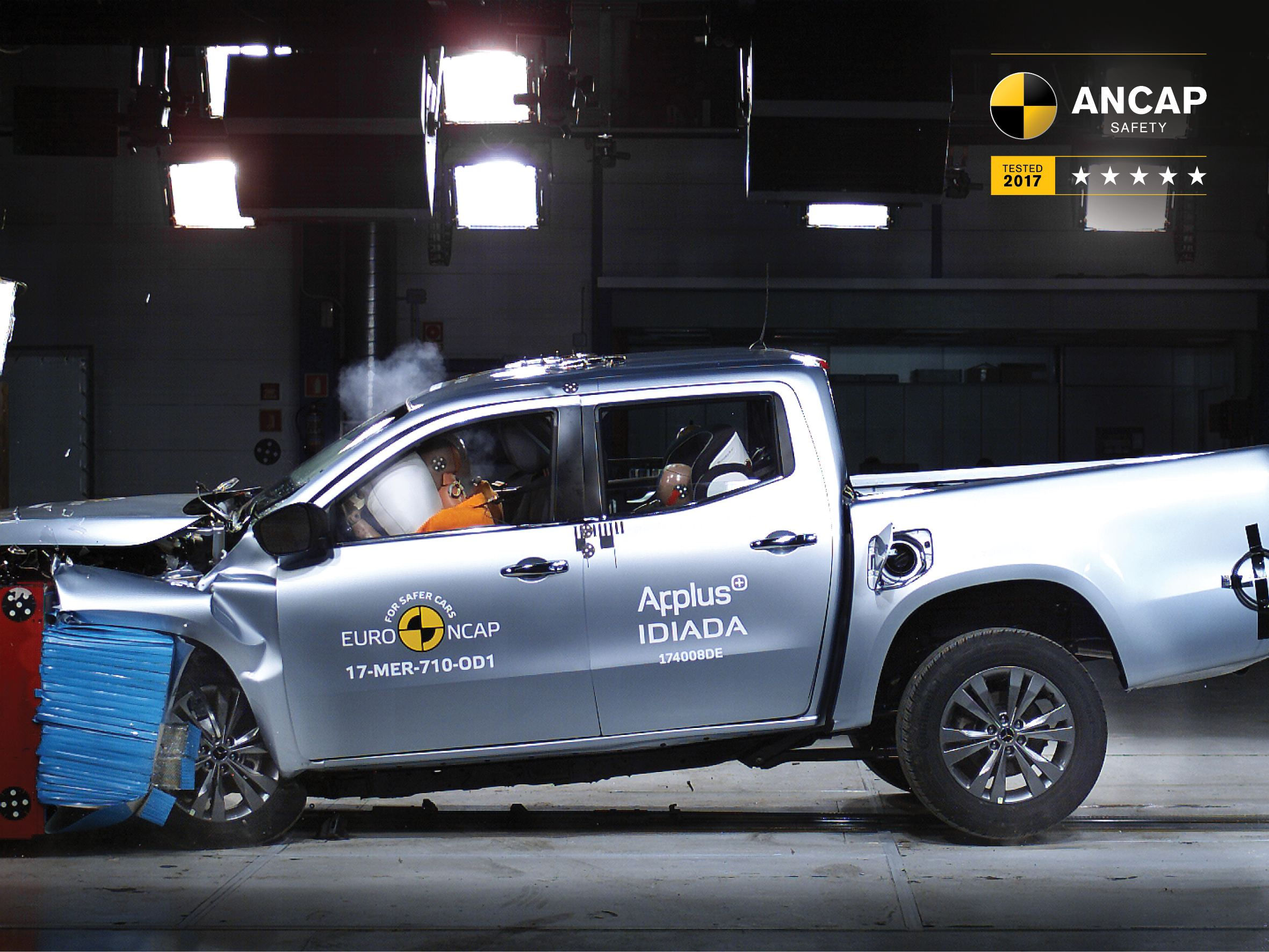 Mercedes-Benz X-Class sets new safety benchmarks for dual-cab utes