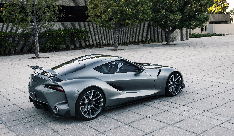 Toyota FT-1 concept.