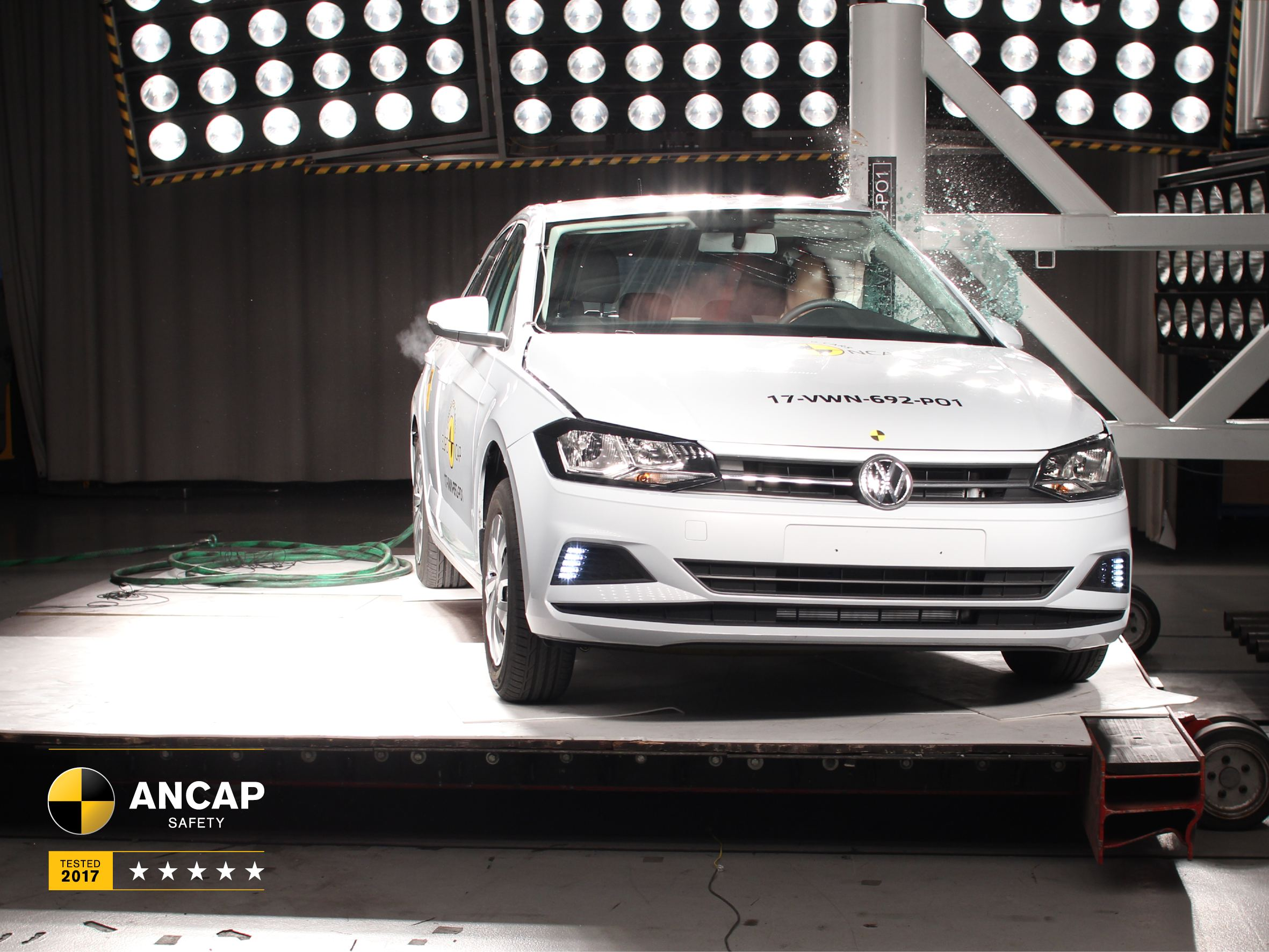 2018 Volkswagen Polo scored highly for occupant protection