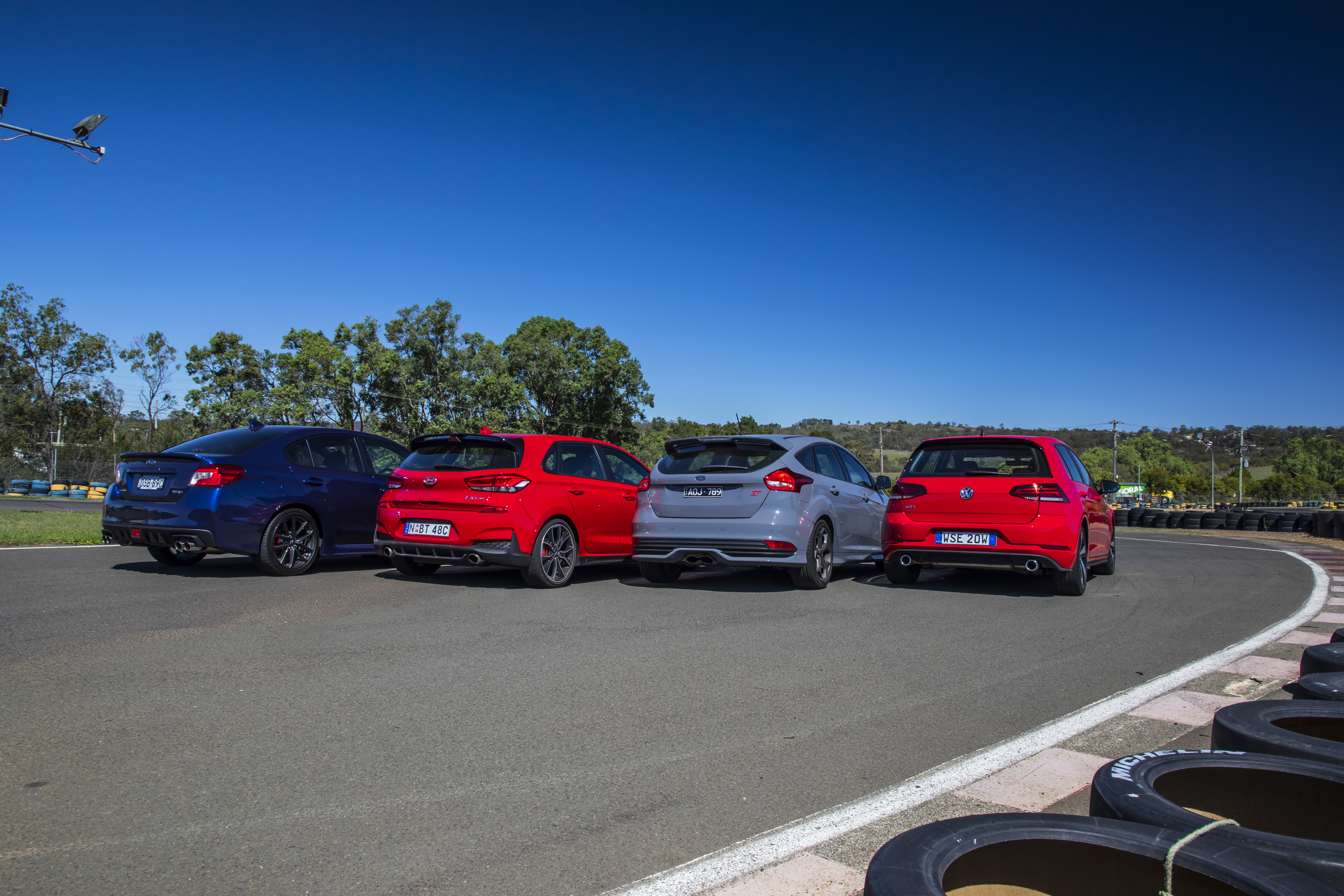 Hyundai's i30 N takes on its hot hatch rivals.