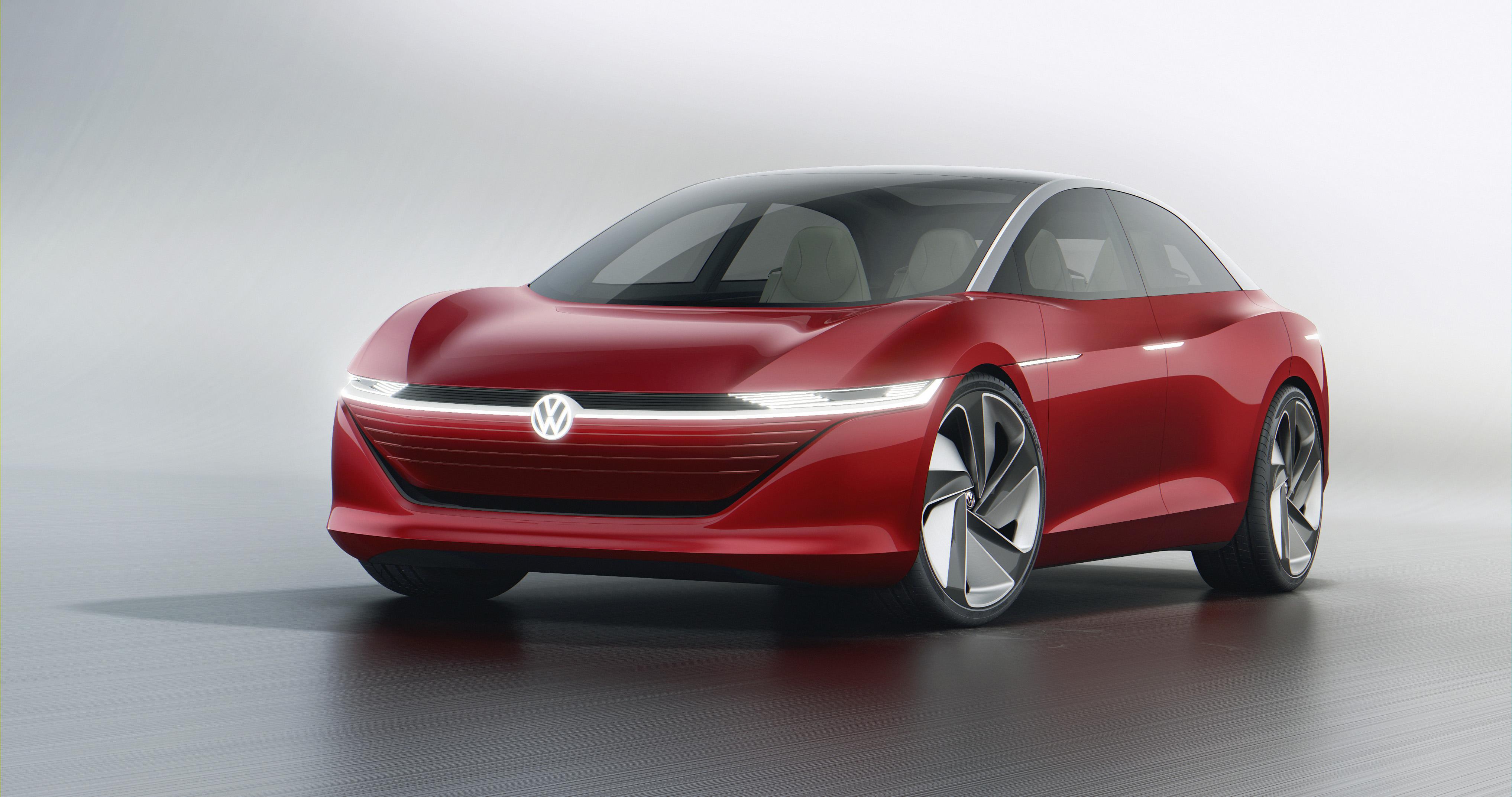 2018 Volkswagen I.D. Vizzion concept.