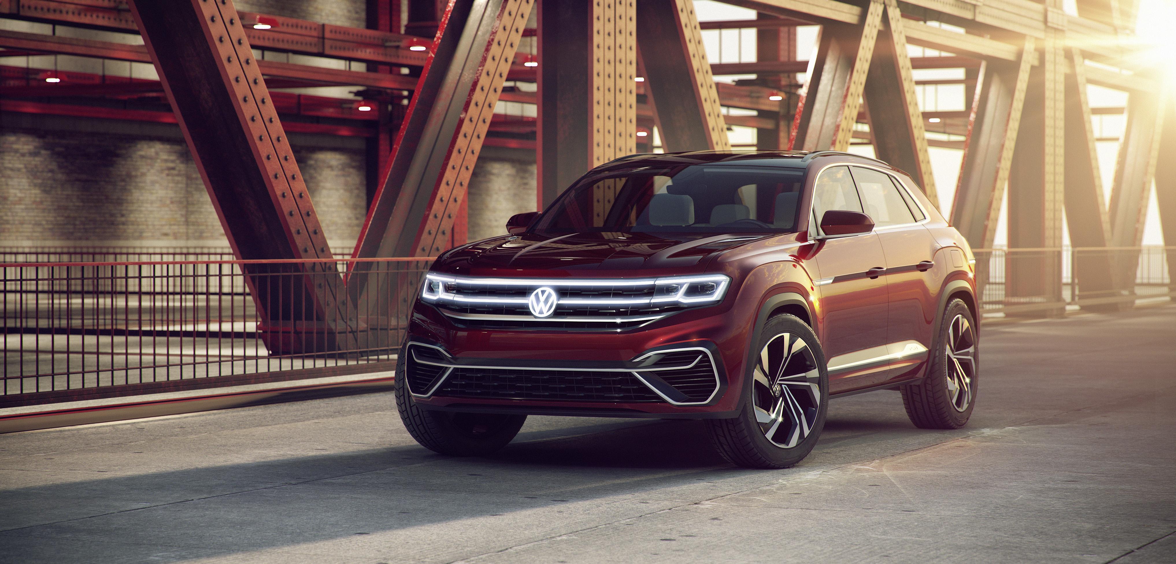 Volkswagen reveals new Atlas Cross Sport