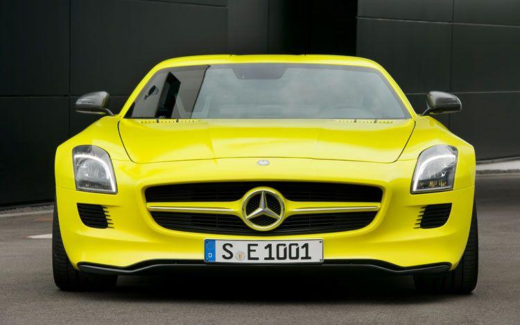 2013 Mercedes-Benz SLS AMG E-Cell Prototype.