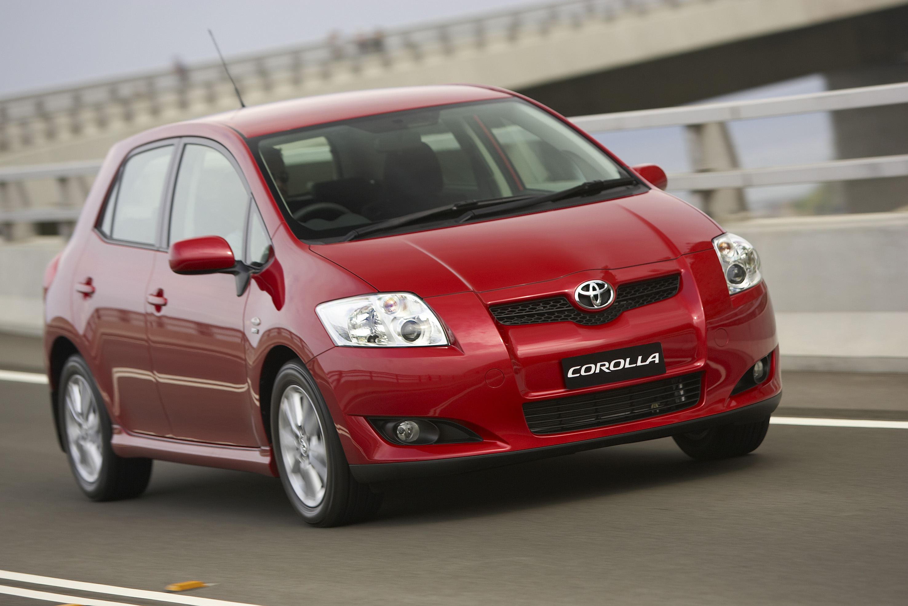 2007 Toyota Corolla.
