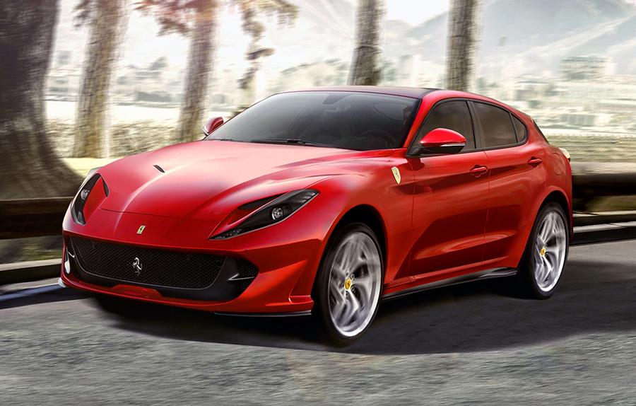 Ferrari's first SUV