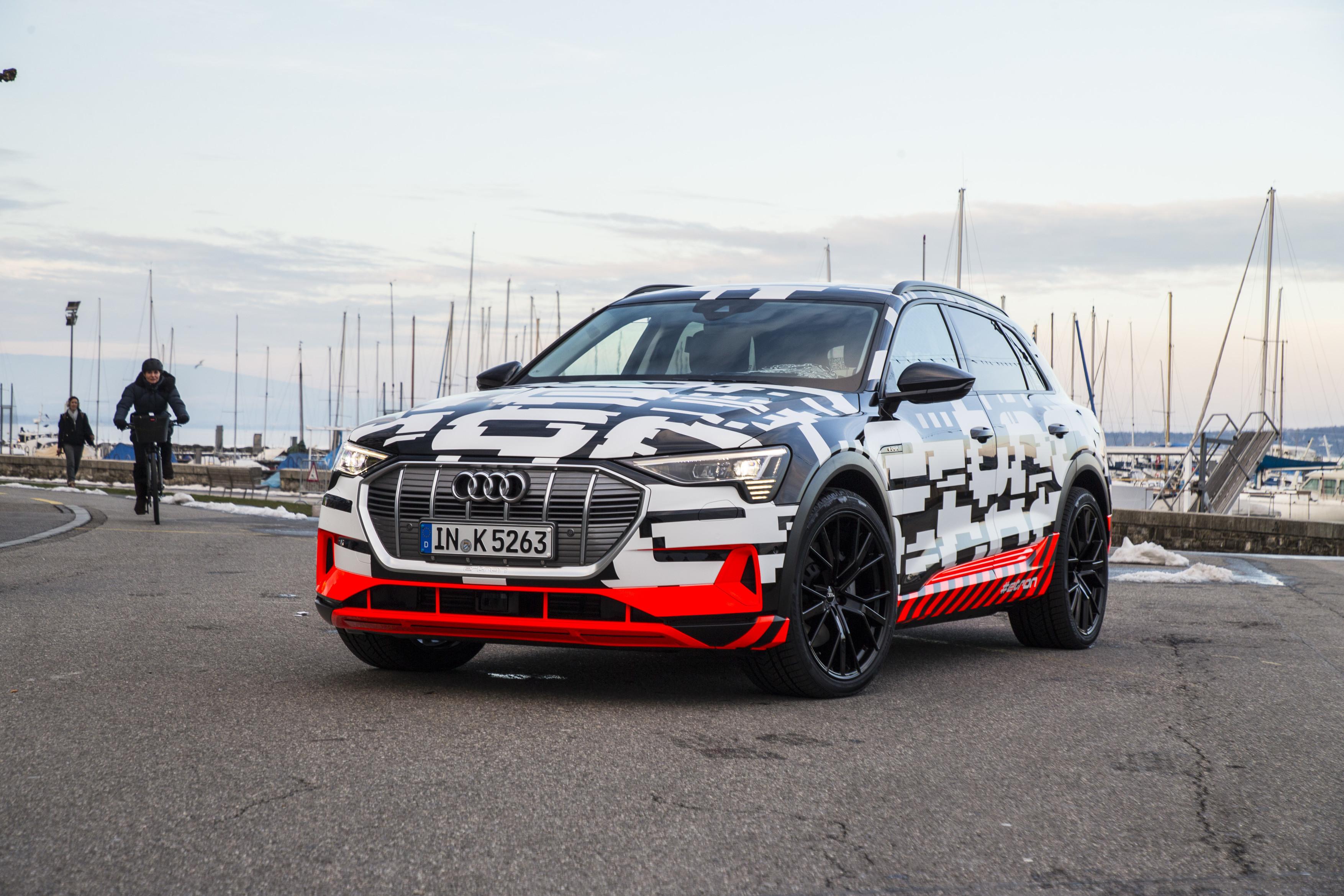 2018 Audi e-tron prototype.