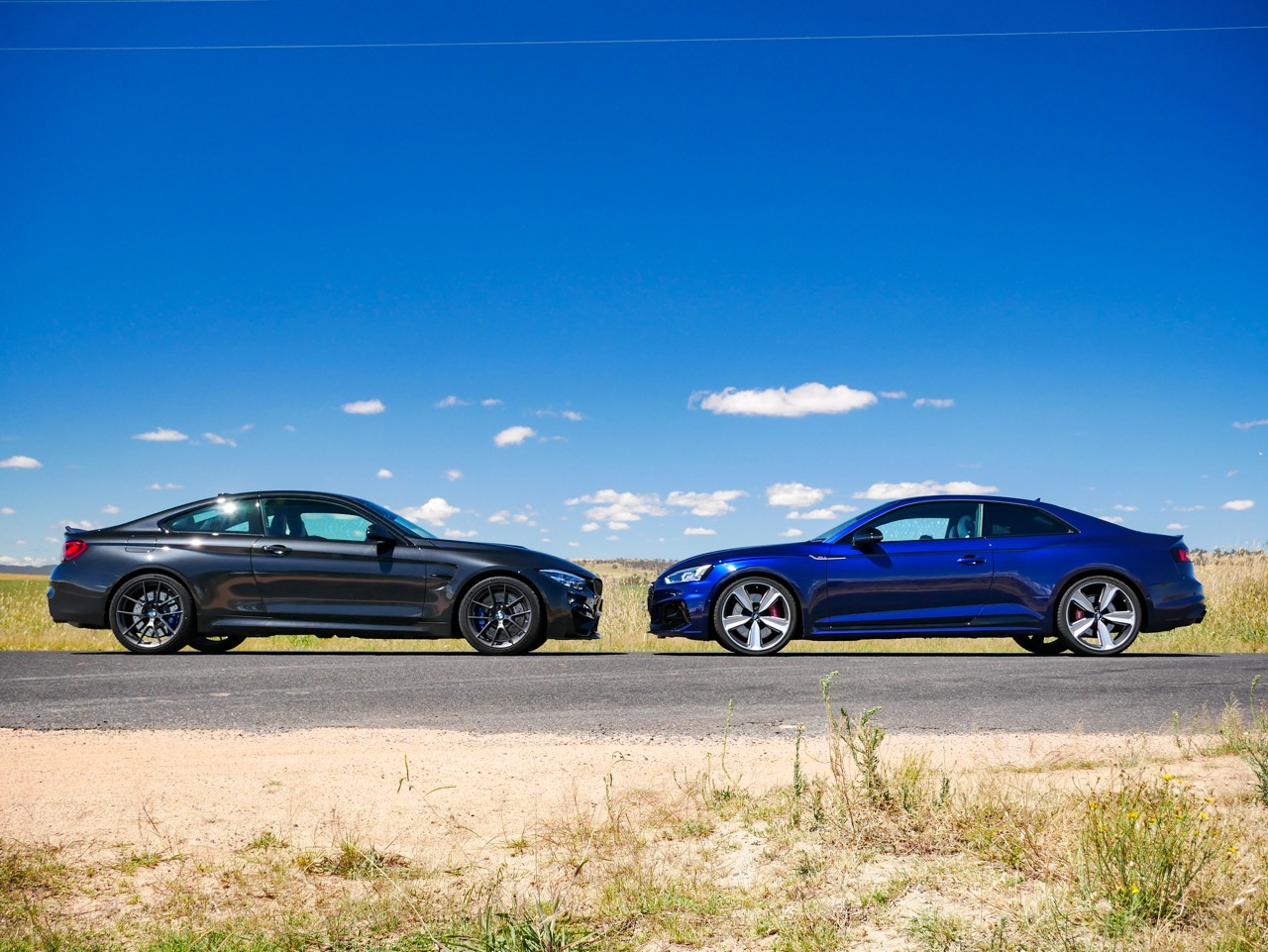 Audi RS5 v BMW M4 CS comparison review