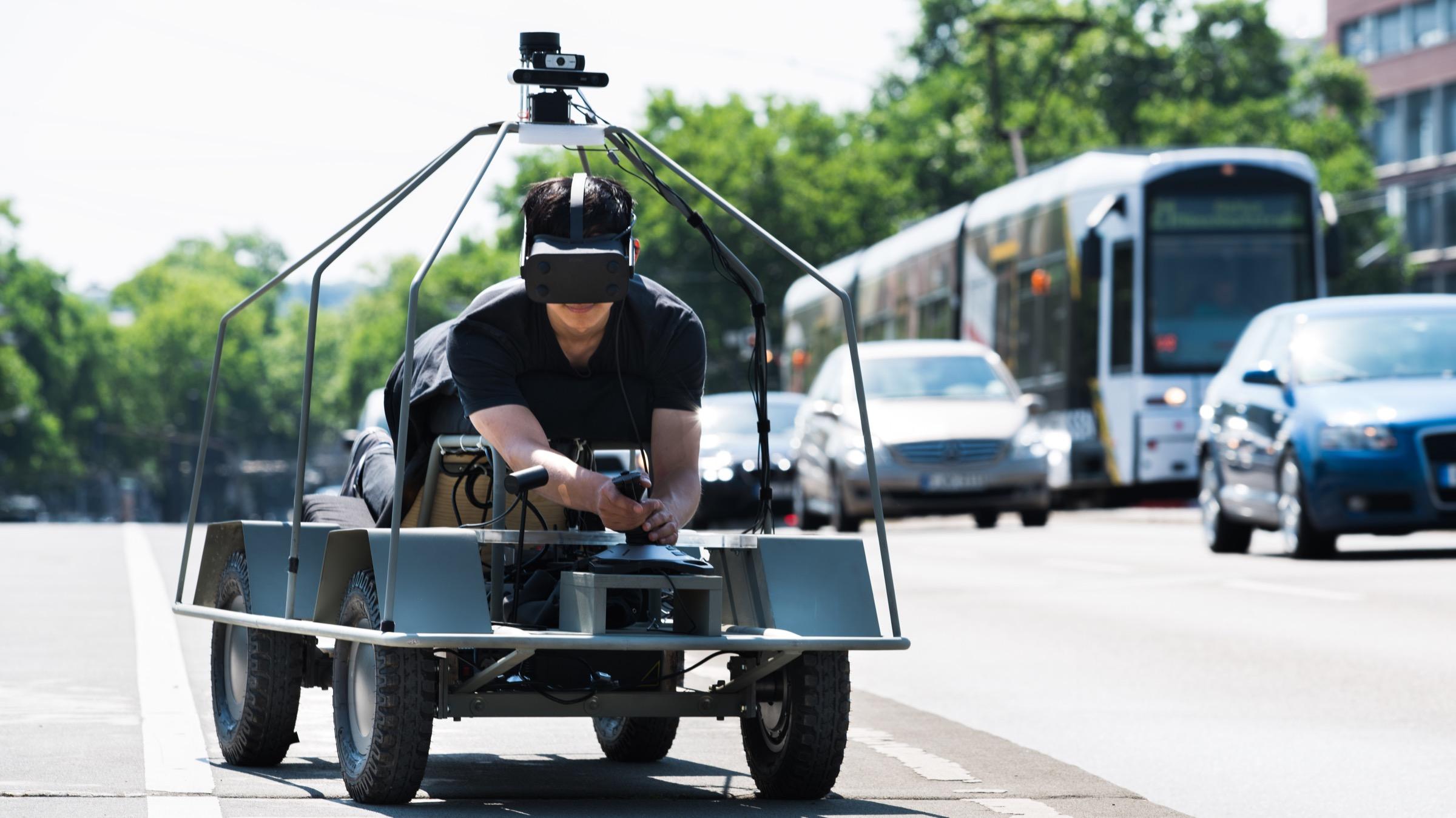 Moovel Lab's AR Rover