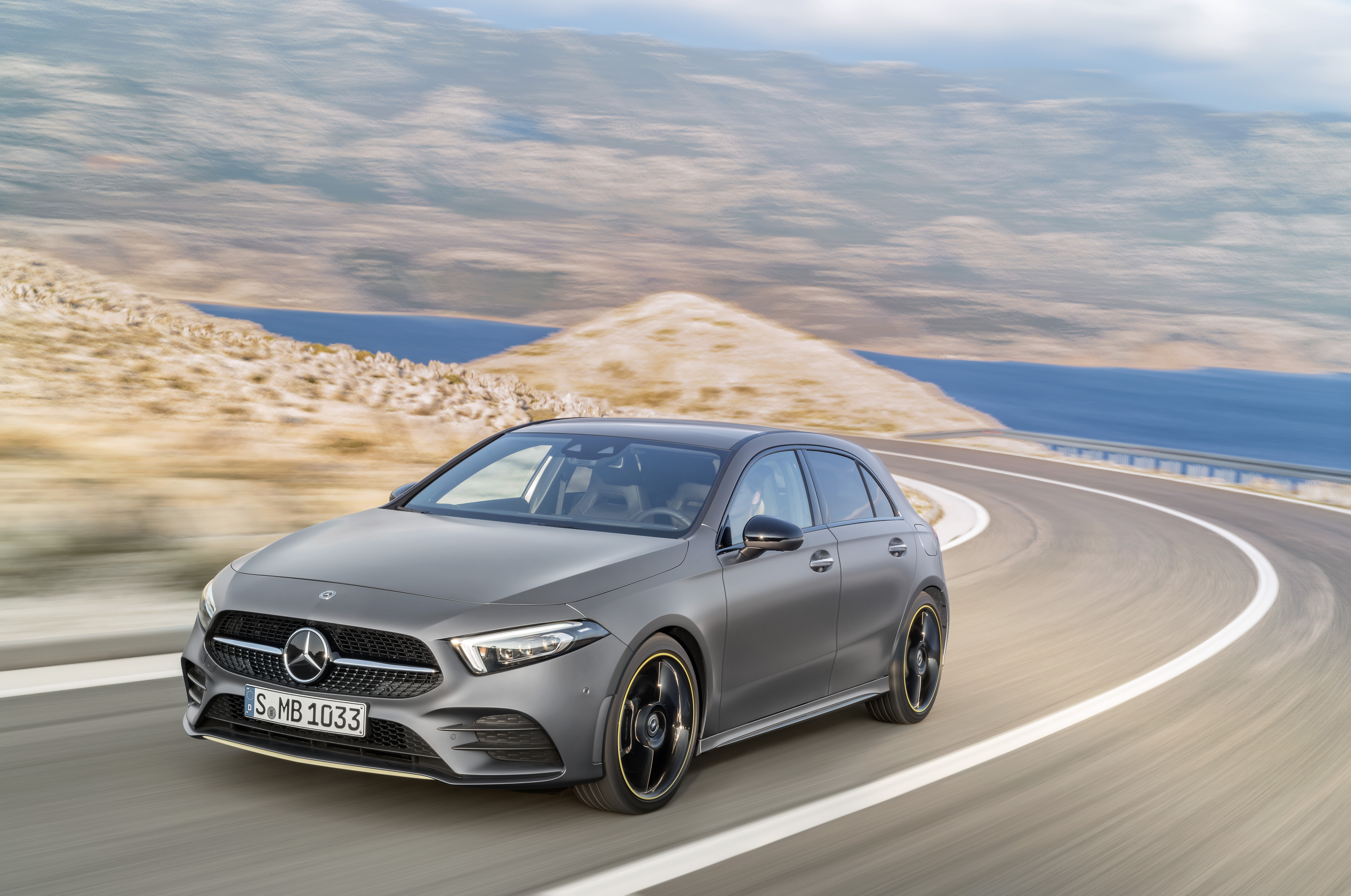 Mercedes-AMG is set to offer a new sub A45 model in its little hatch range.