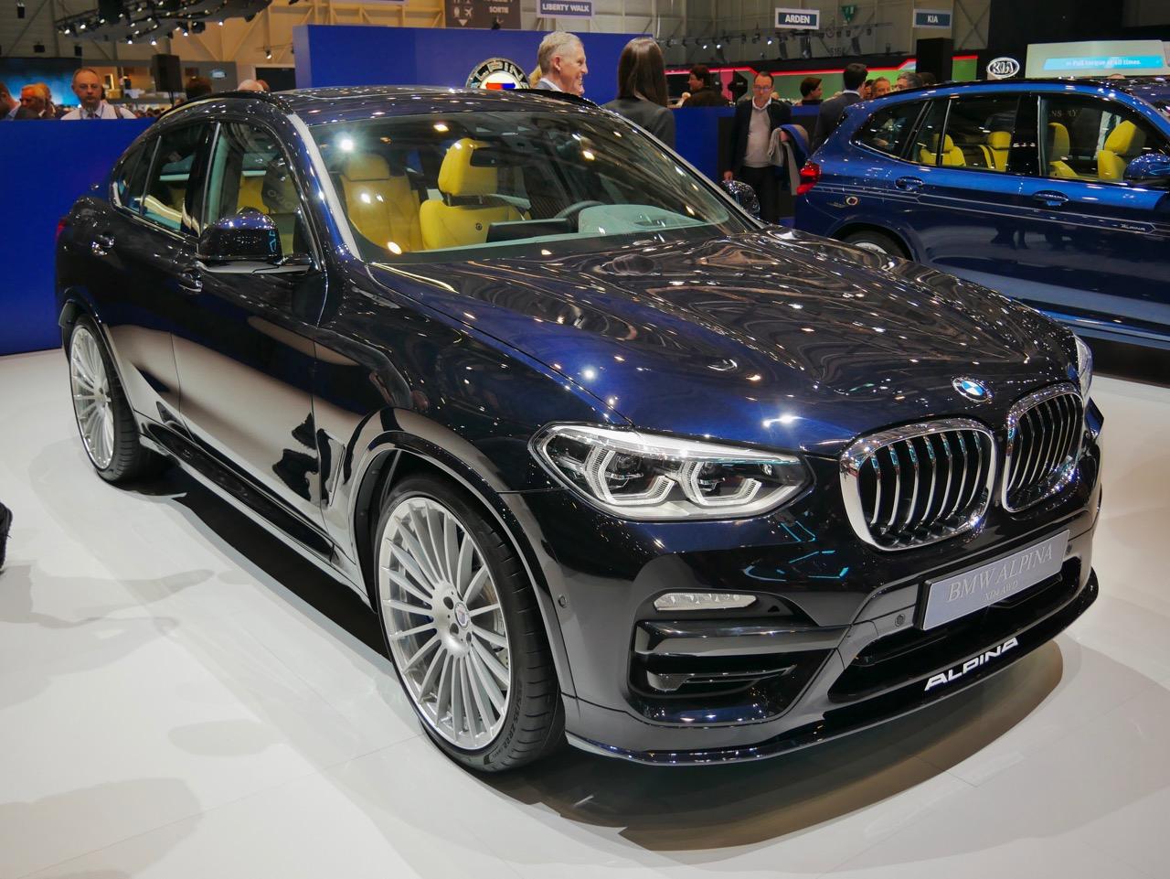 2018 Alpina XD4.