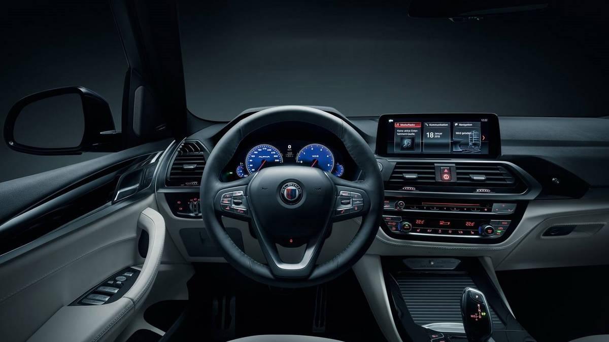 2018 Alpina XD3