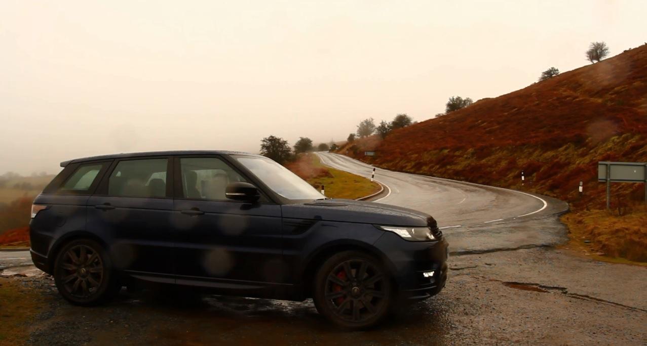 Range Rover Sport in Wales