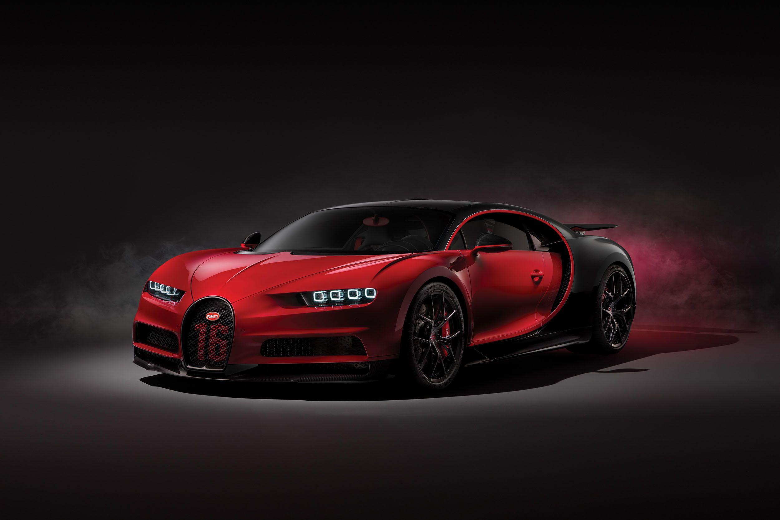 Bugatti reveals faster Chiron Sport