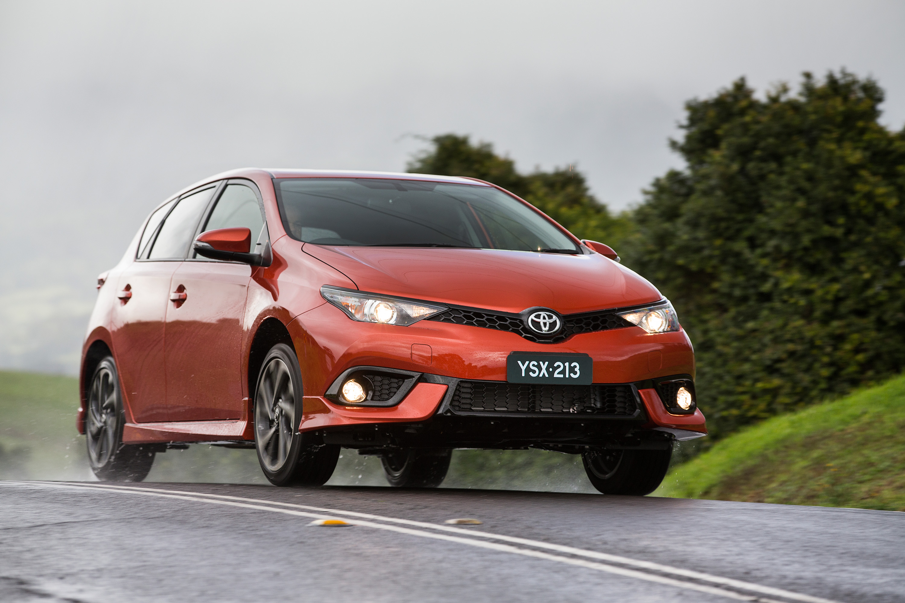 The Toyota Corolla was the highest selling passenger vehicle in 2017.