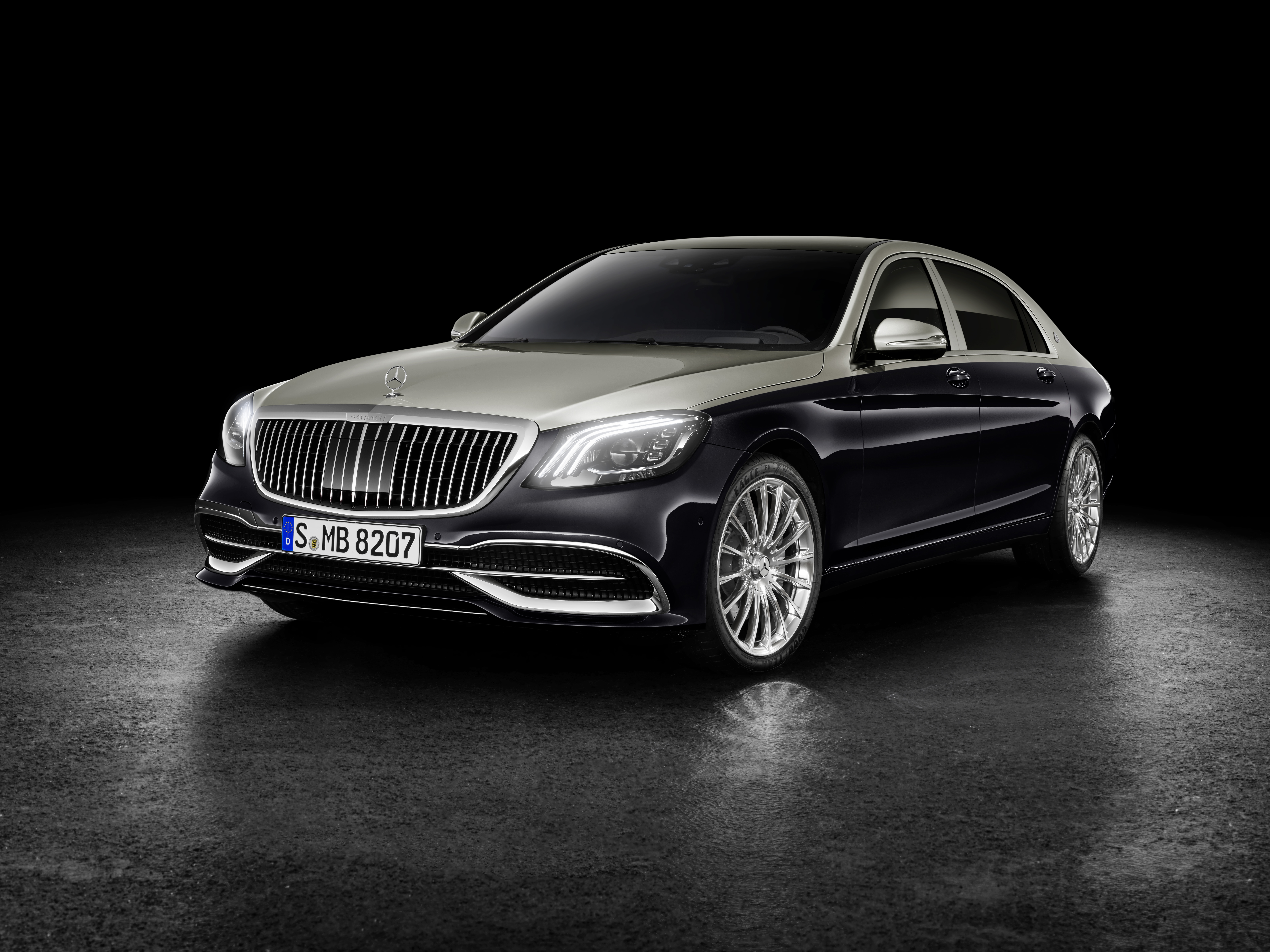 2018 Mercedes-Maybach S-Class revealed